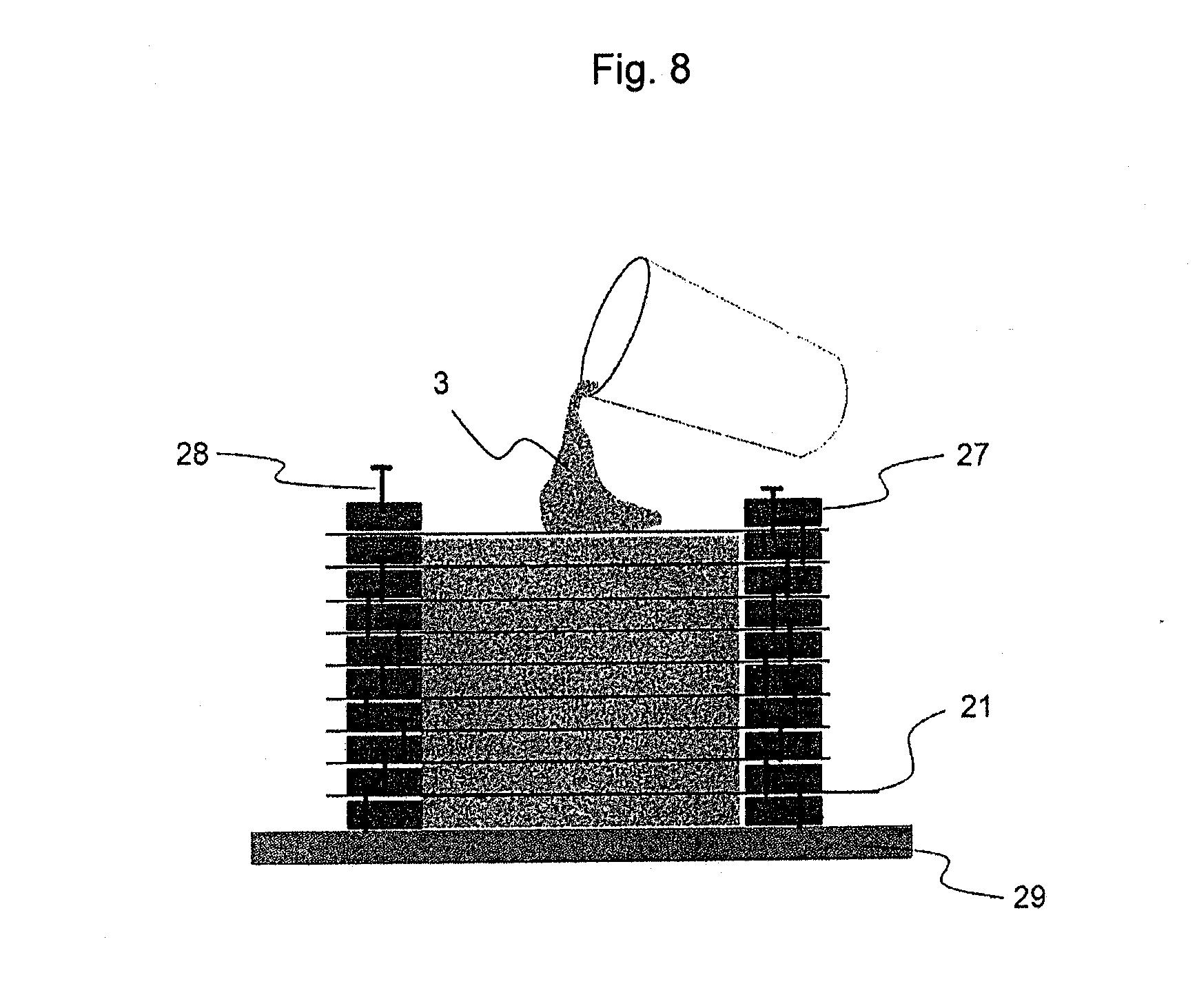 Light Transmitting Concrete Patent Us20110185660 Translucent Building Element And Equipment