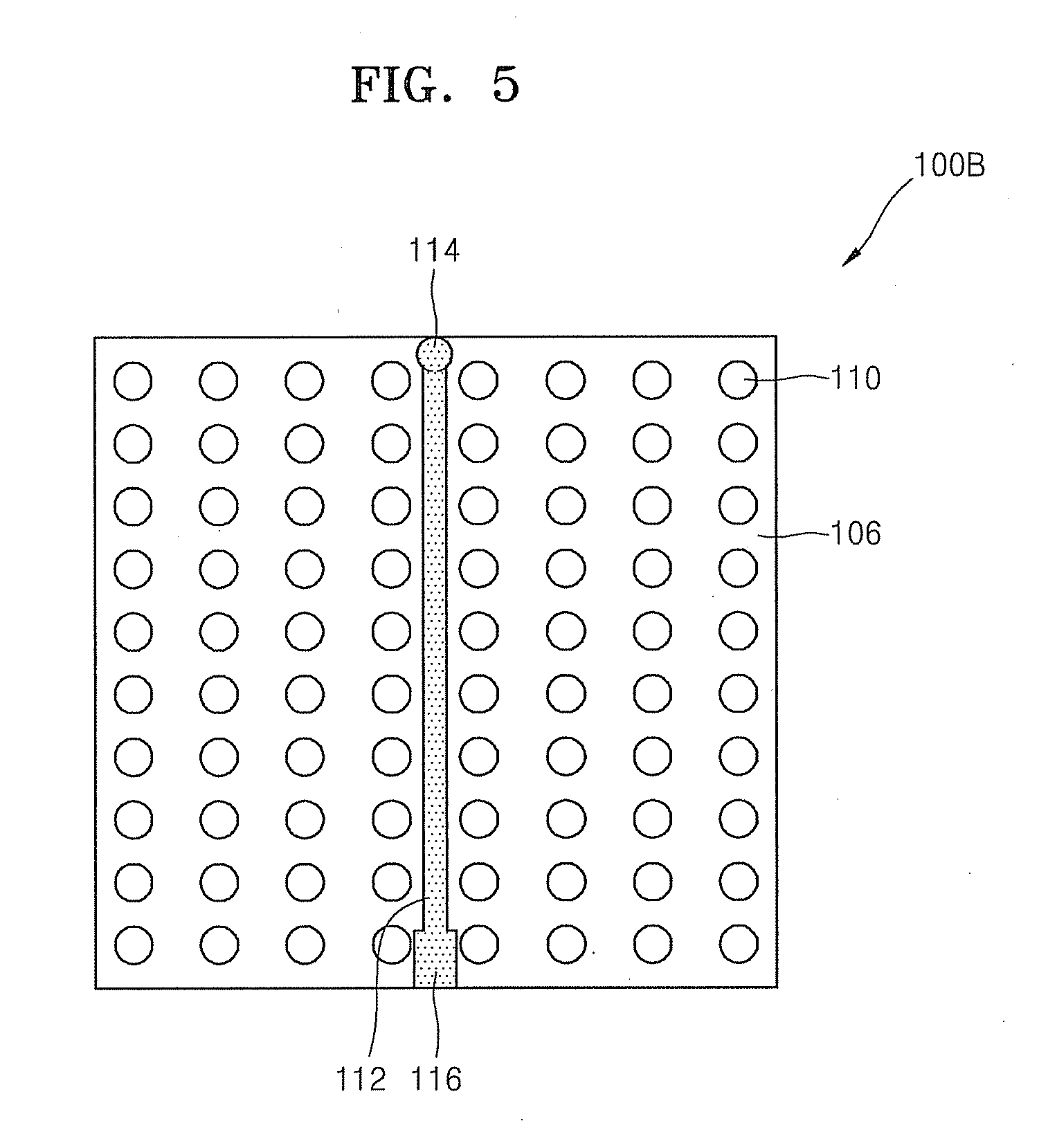 patent us20110193228 - molded underfill flip chip package preventing warpage and void