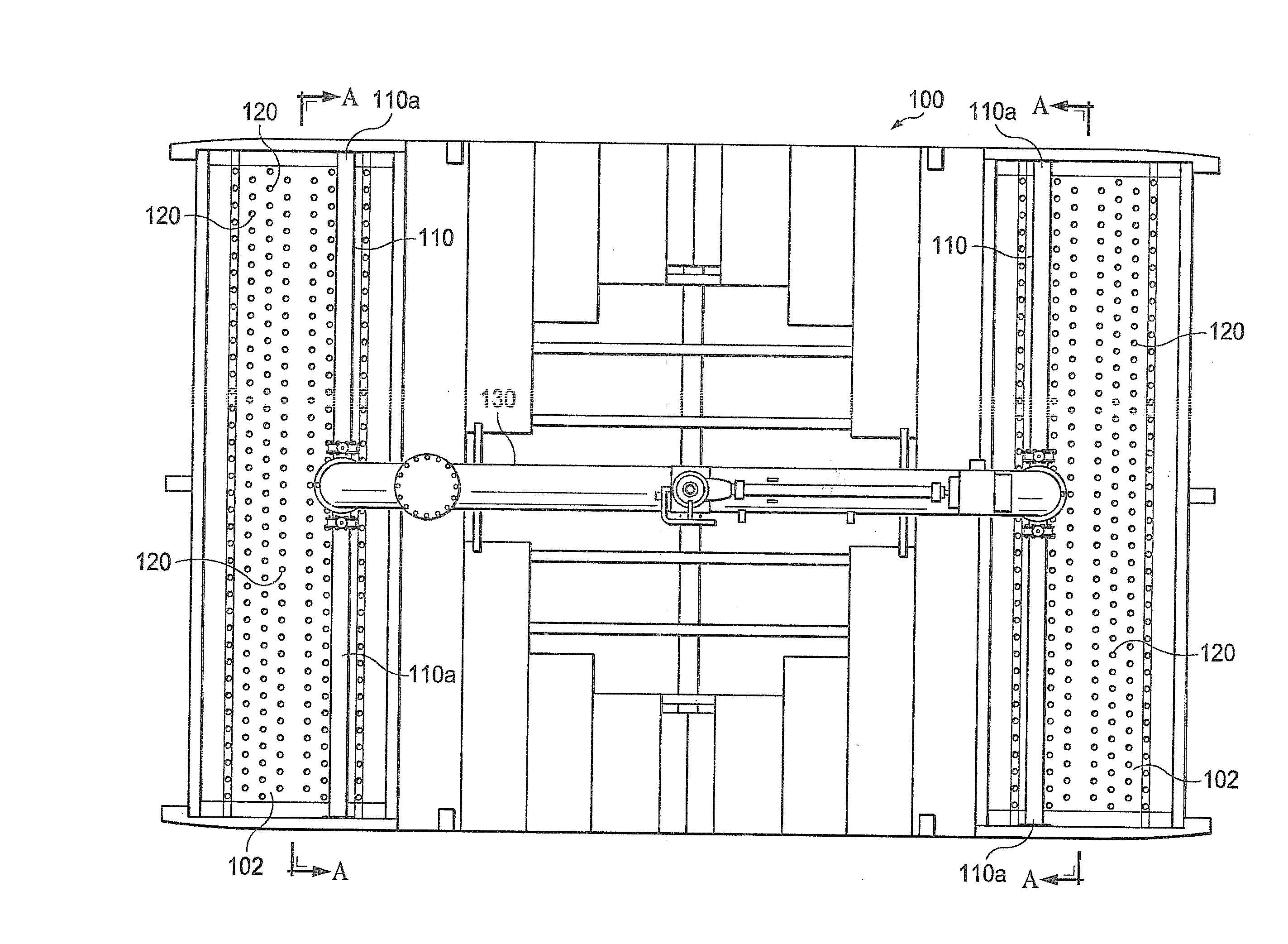 patent us20110241232 - hot water distribution system and method for a cooling tower