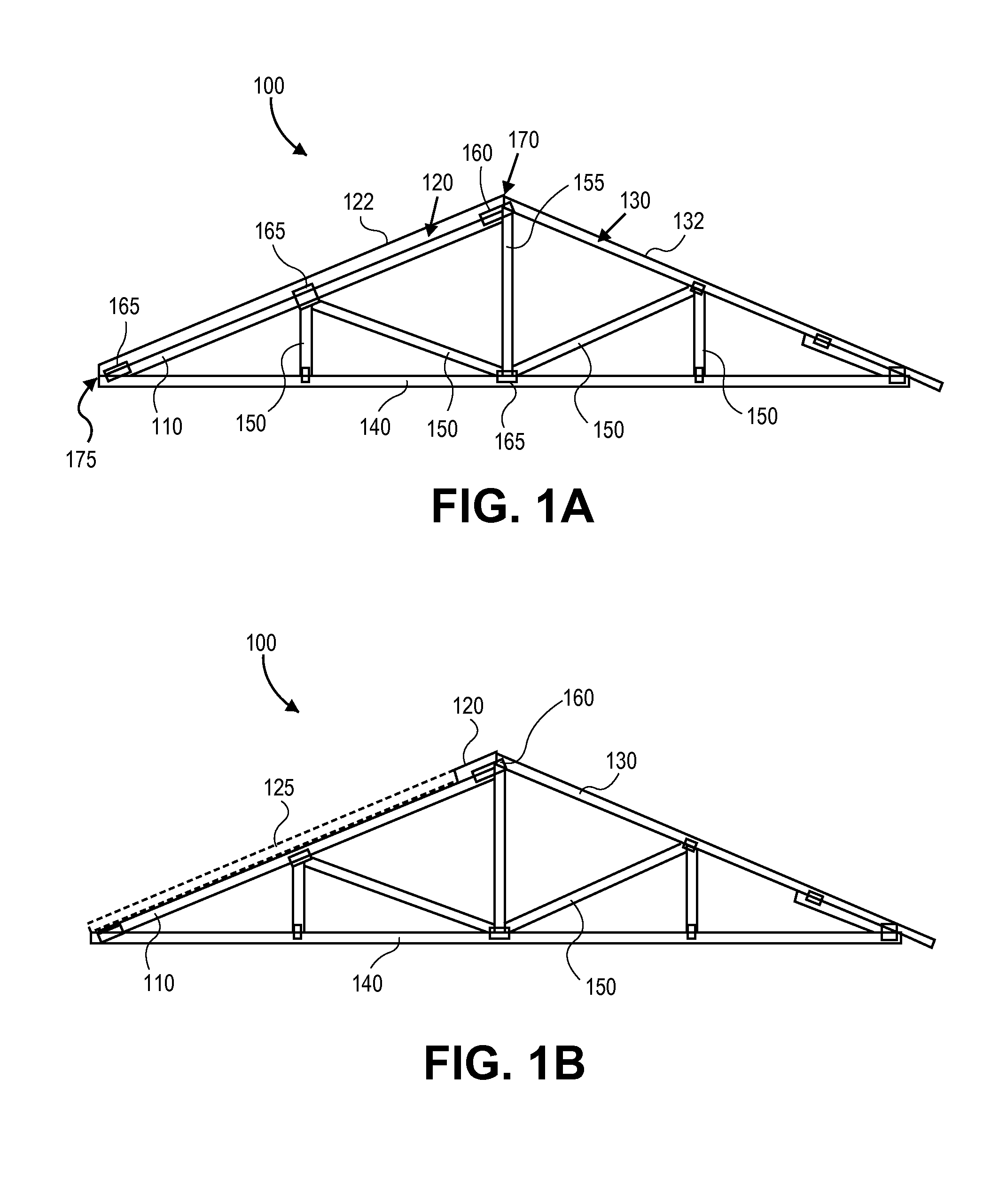 Patent Us20110252724 Roof Truss Compatible For Solar