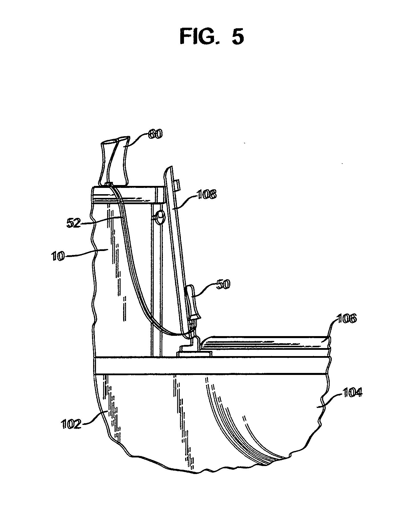 Patent Us20110259973 Toilet Flush Activated Air