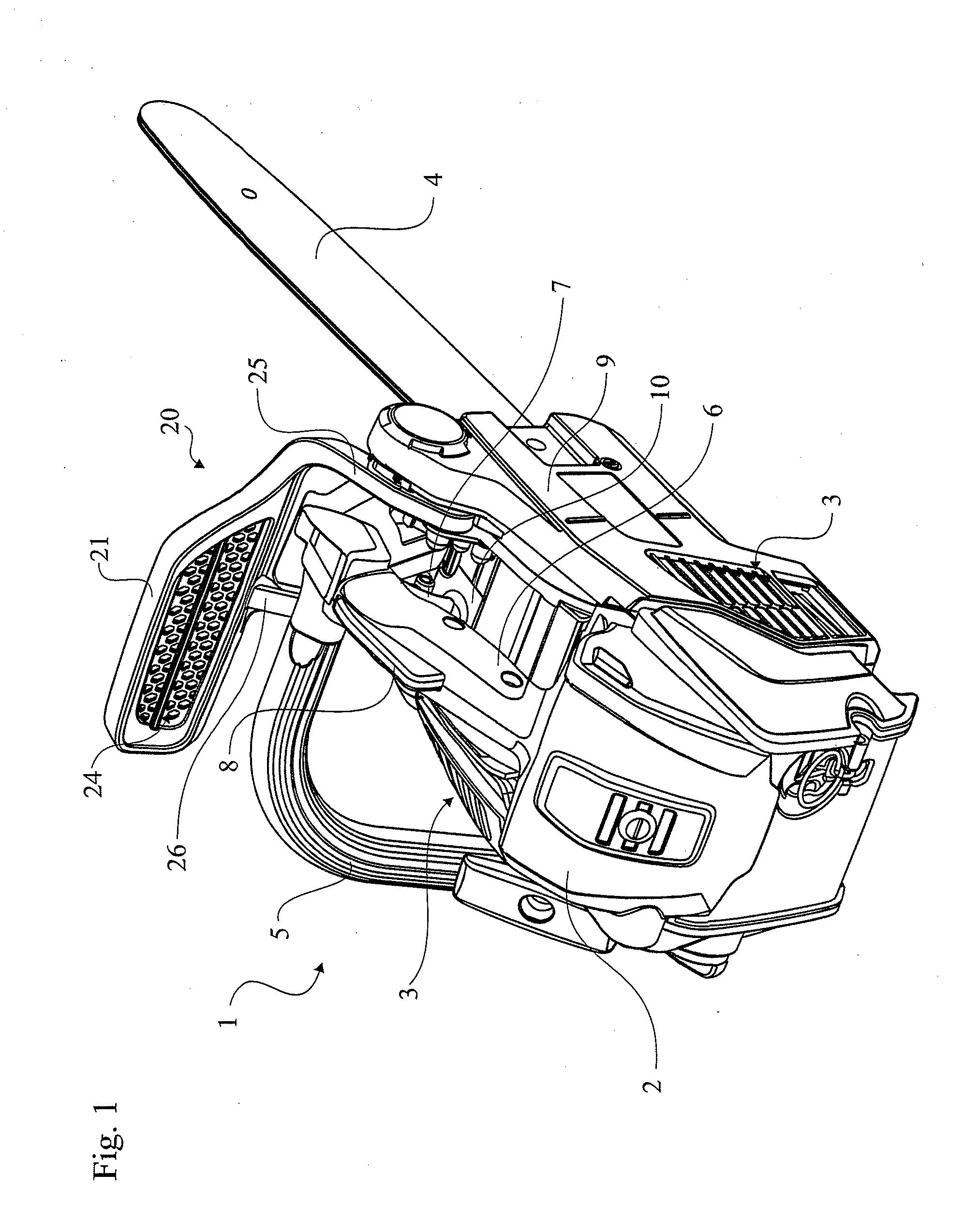 stihl chainsaw drawing