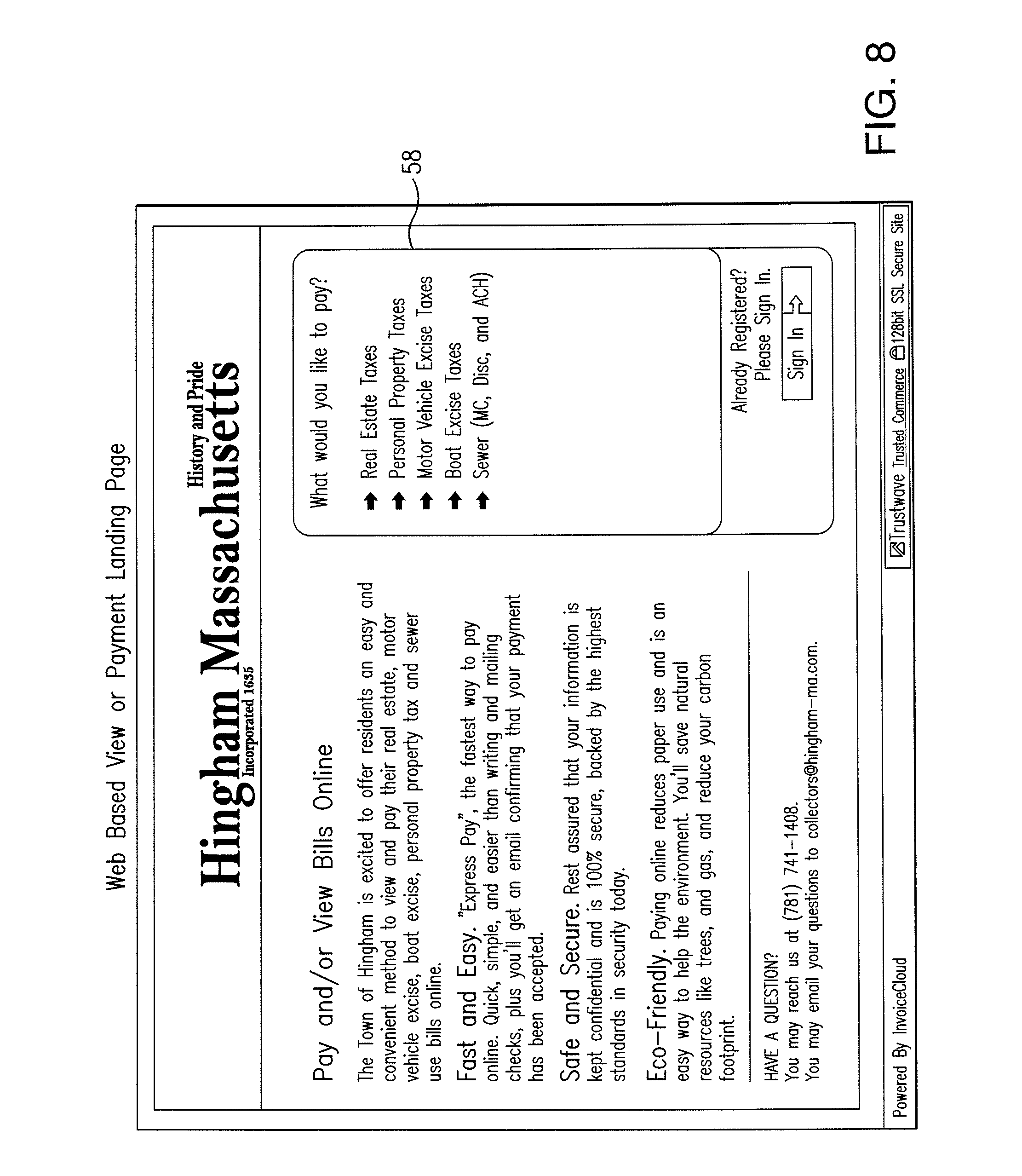 Hertz Car Rental Receipts Patent Us  Electronic Invoice Presentation And Payment  Sales Invoices Excel with Excel Service Invoice Template Patent Drawing Aia Invoice Form Pdf