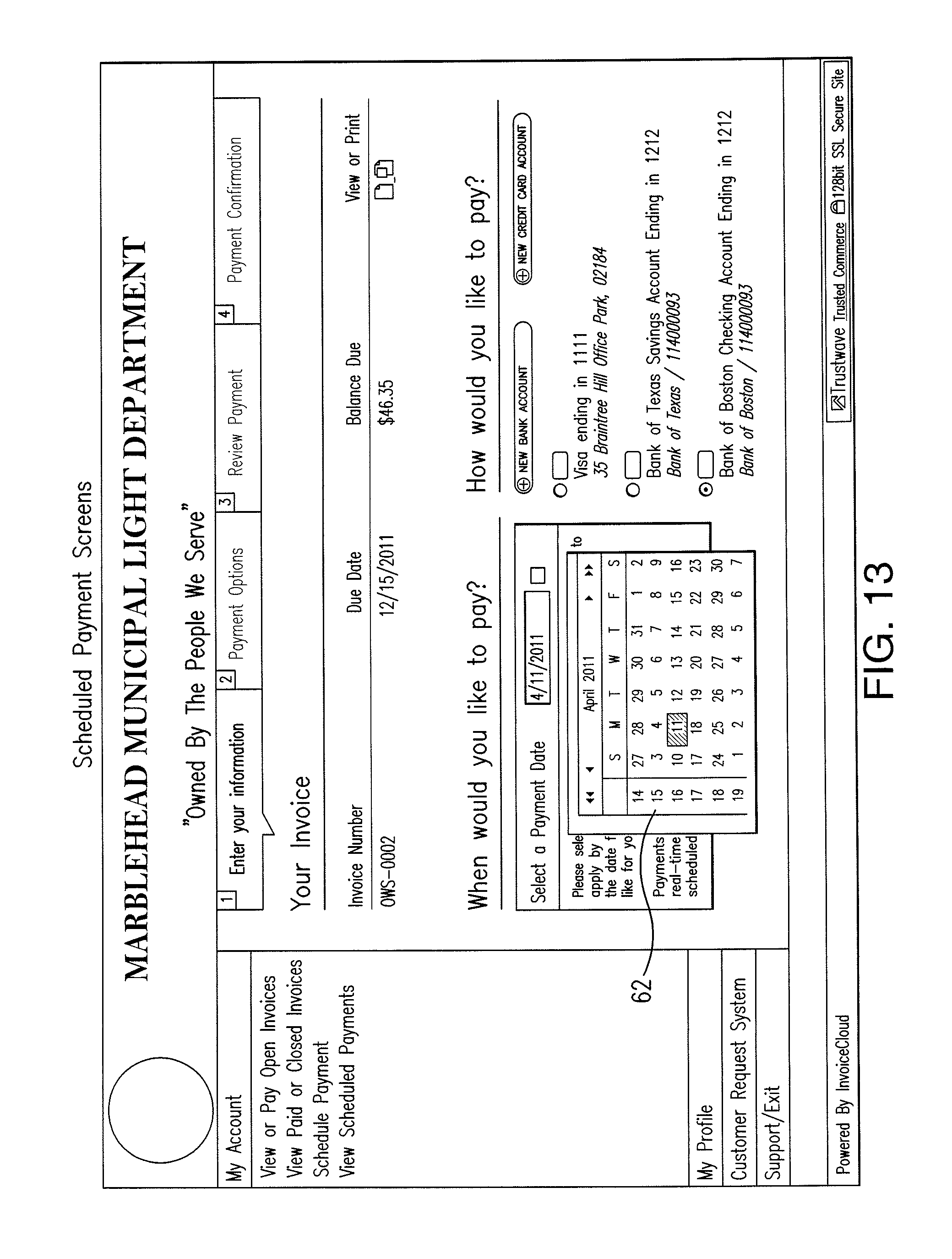 Template For Invoice Uk Patent Us  Electronic Invoice Presentation And Payment  Florida Toll By Plate Invoice Pdf with Business Invoice Factoring Excel Patent Drawing Make Fake Receipts Pdf
