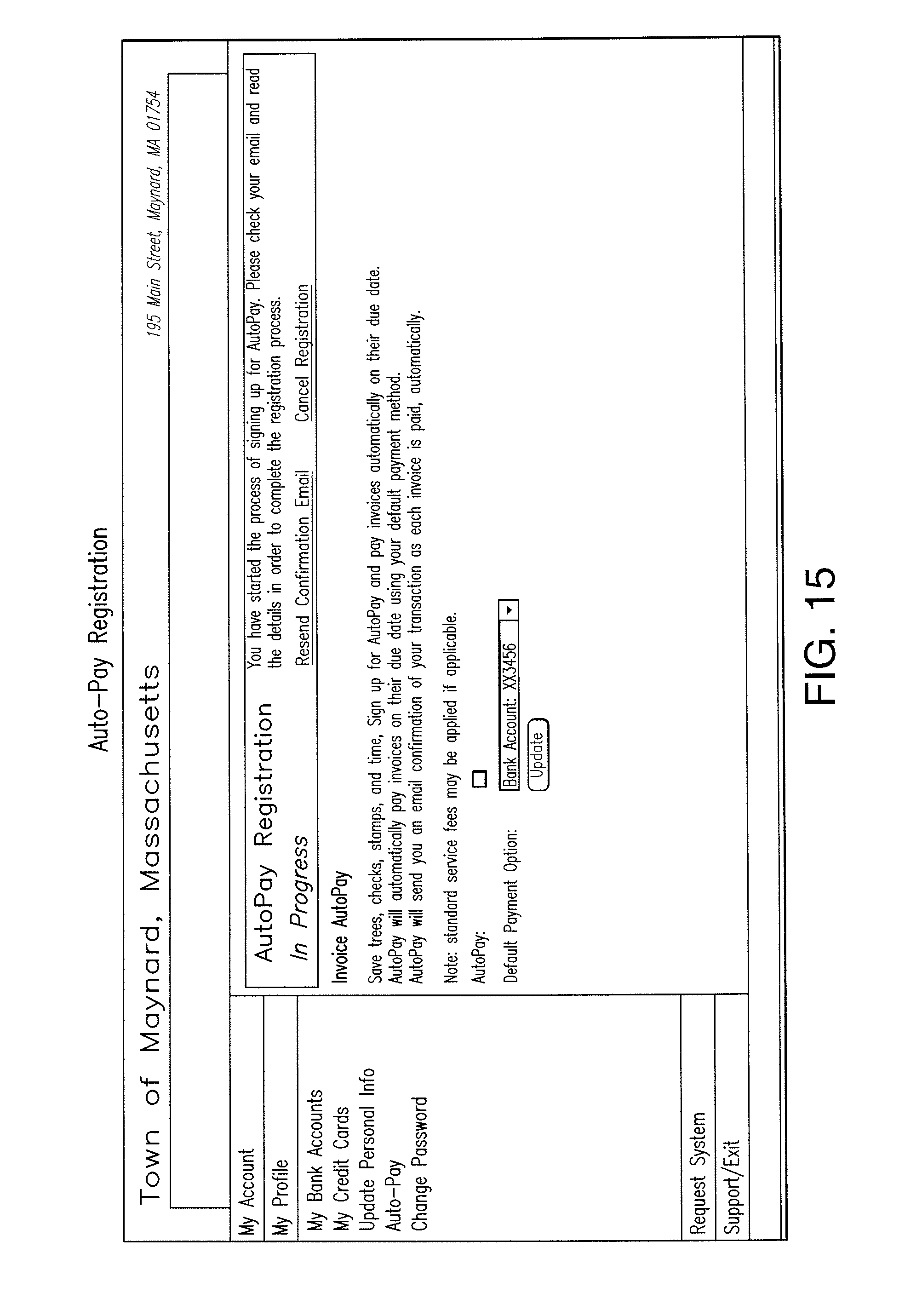 Intuit Invoice Manager Patent Us  Electronic Invoice Presentation And Payment  Print Receipt Book Word with Net Receipt Patent Drawing Invoice Template Pdf Free Pdf