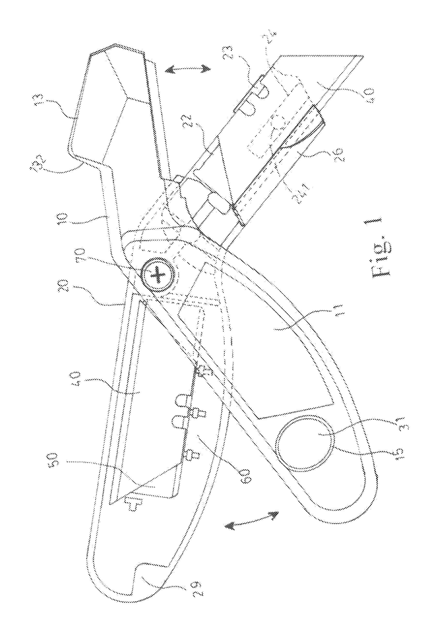 Patent US20110271531 - Opening And Closing Mechanism For Utility Knife - Google Patents