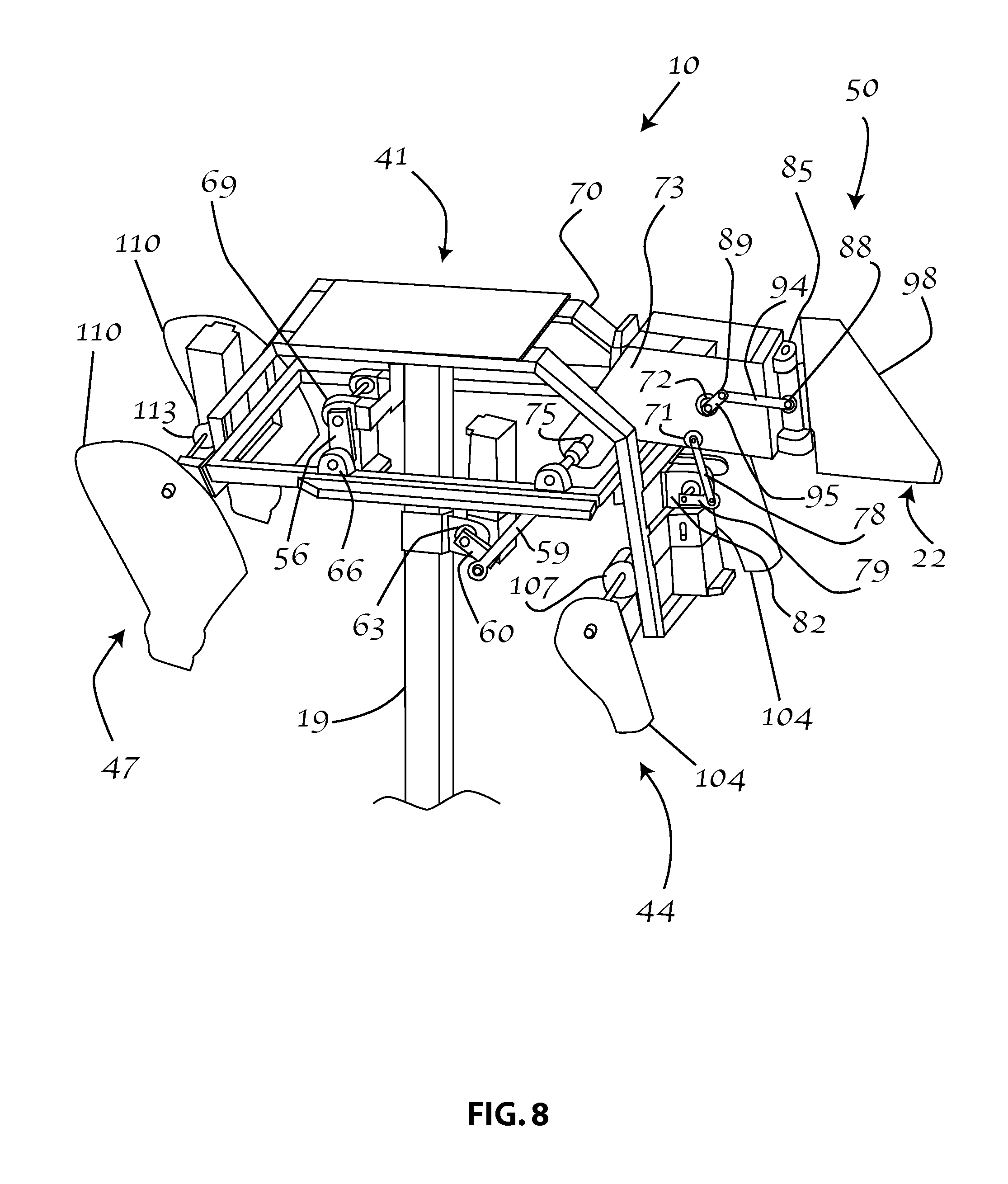 US20110275444A1 20111110 D00008 patent us20110275444 mechanical device for simulating an animal mechanical bull wiring diagram at webbmarketing.co