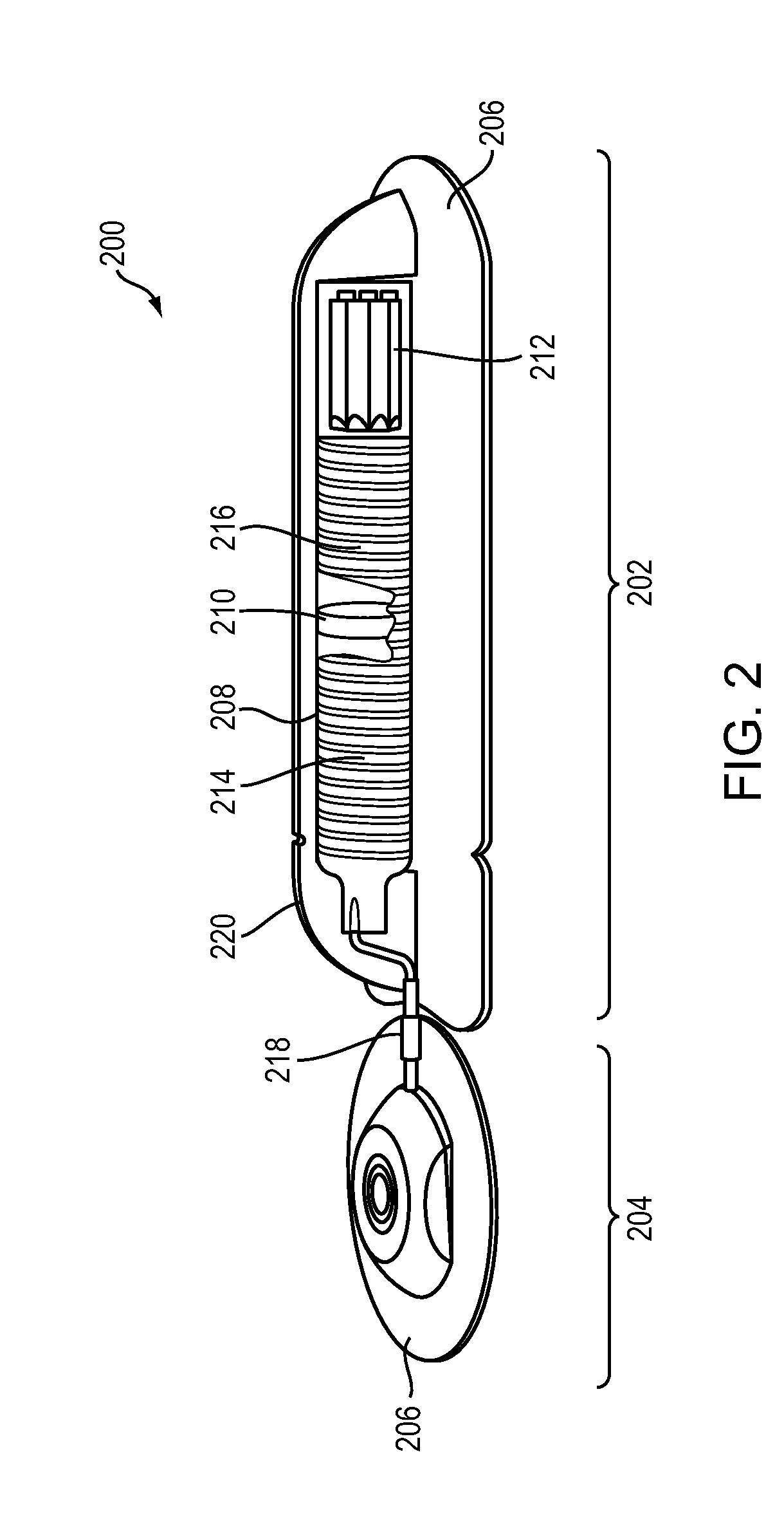 patent us20110275987 piston driven drug pump devices google patents. Black Bedroom Furniture Sets. Home Design Ideas