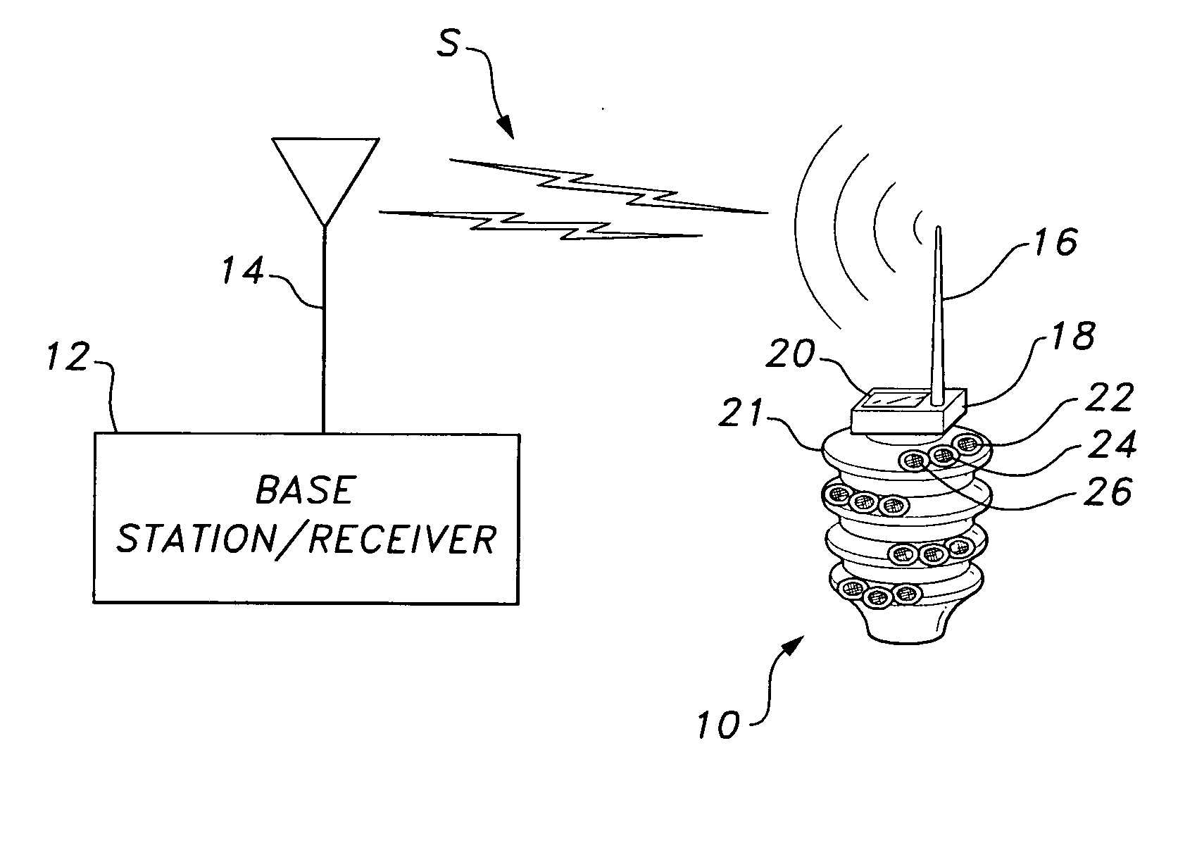 High Voltage Insulator Failures : Patent us  monitoring and early warning alarm