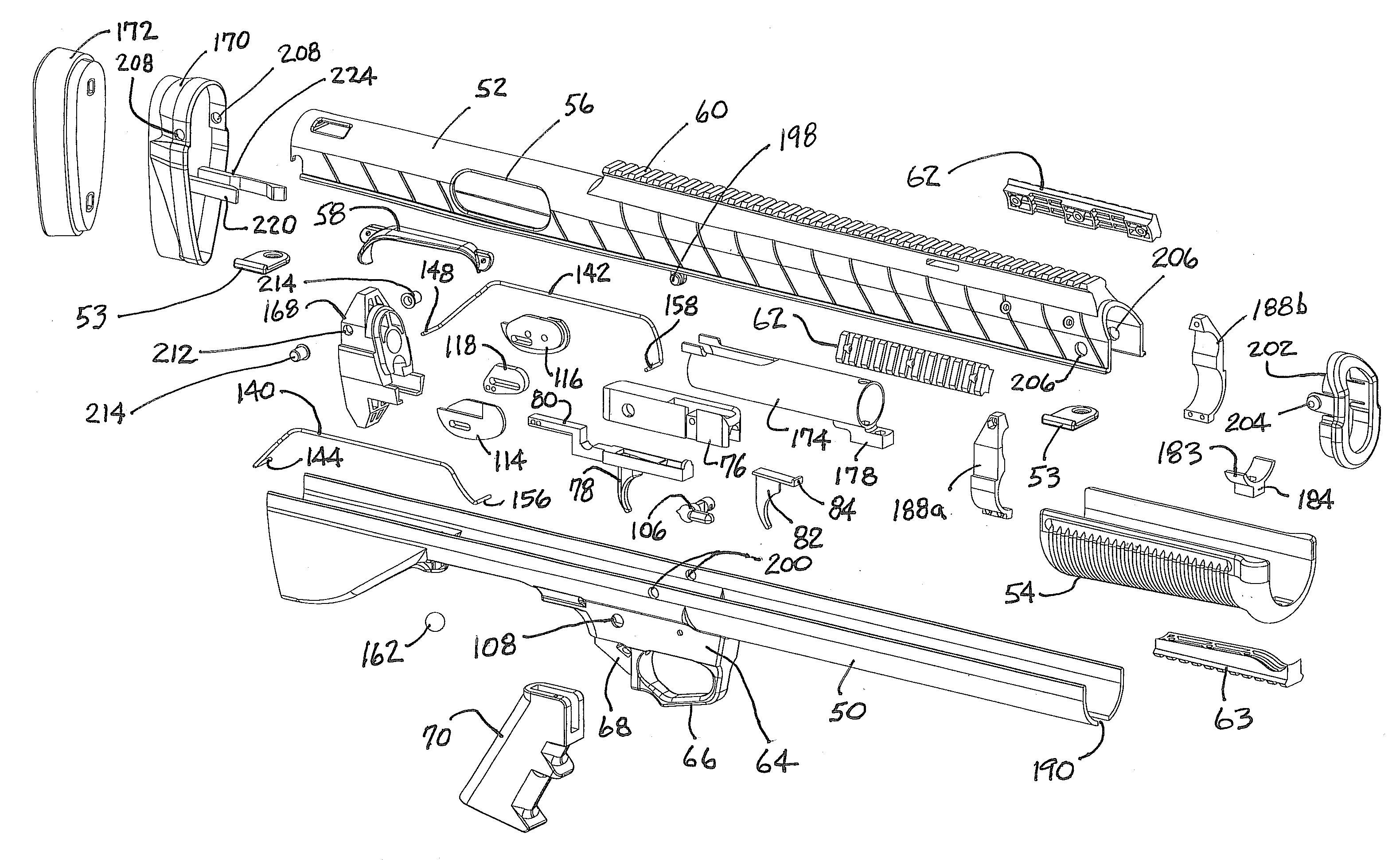 patent us20110283582 - bullpup conversion kit for firearm