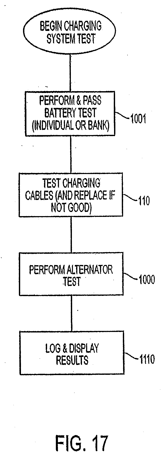 Patent Us20110288789 Alternator Battery System Tester And Method Fig Back Of Typical Illustrating Wiring Drawing