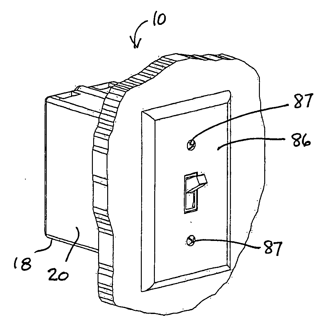 patent us20110290518 - electrical junction box
