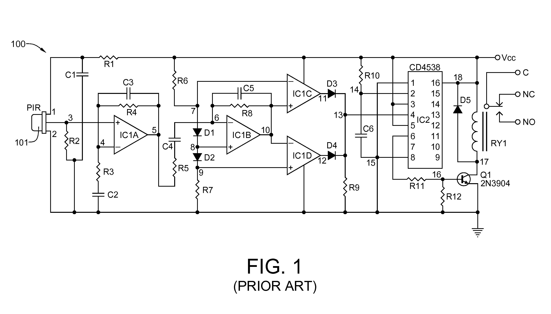 Ir Sensor Circuit Using Lm324 The Mighty Operational Pin Diagram Free