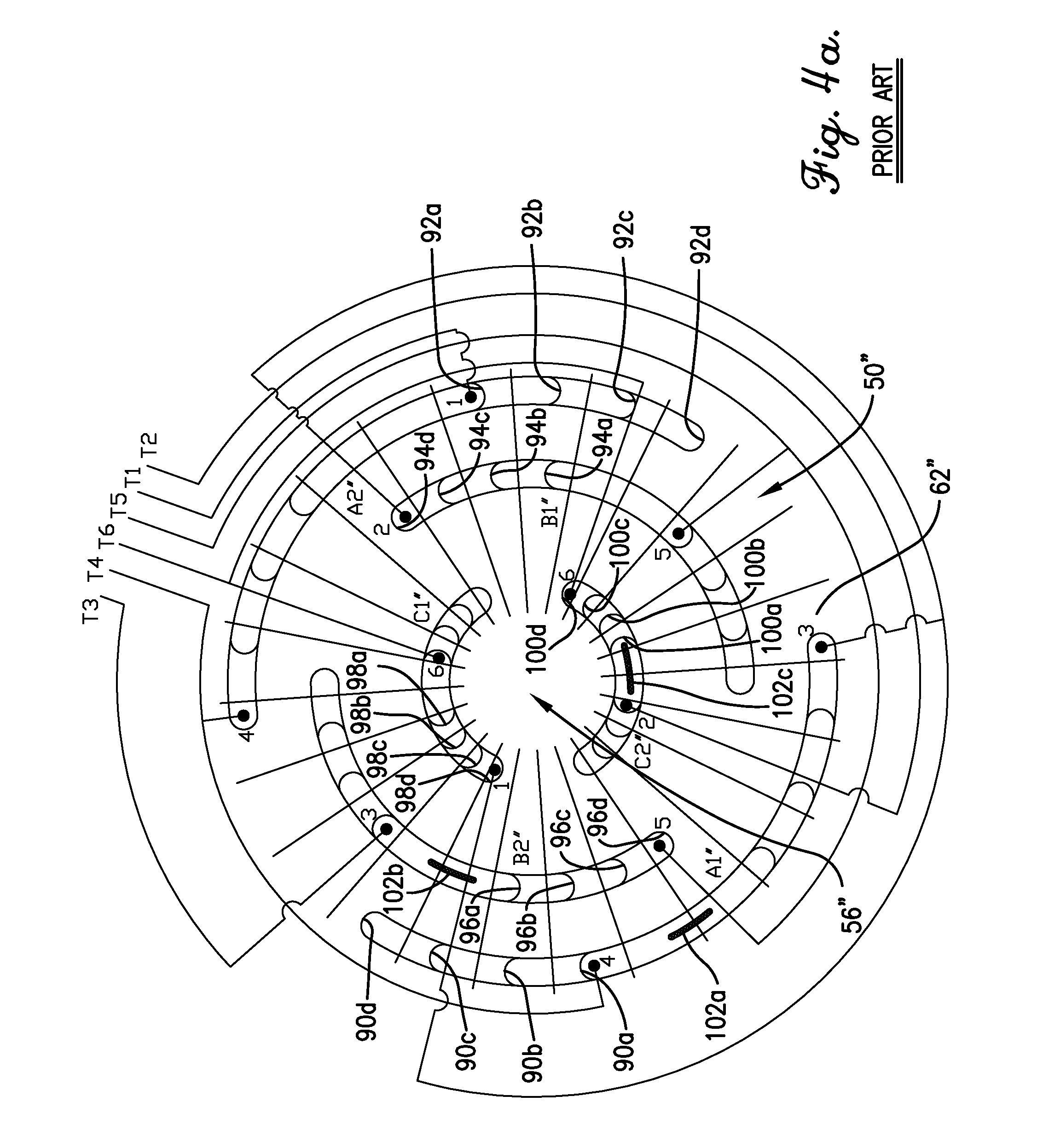Desk Fan Motor Wiring Diagram Phase Induction Star Delta Connection Images 12 Leads Patent Drawing