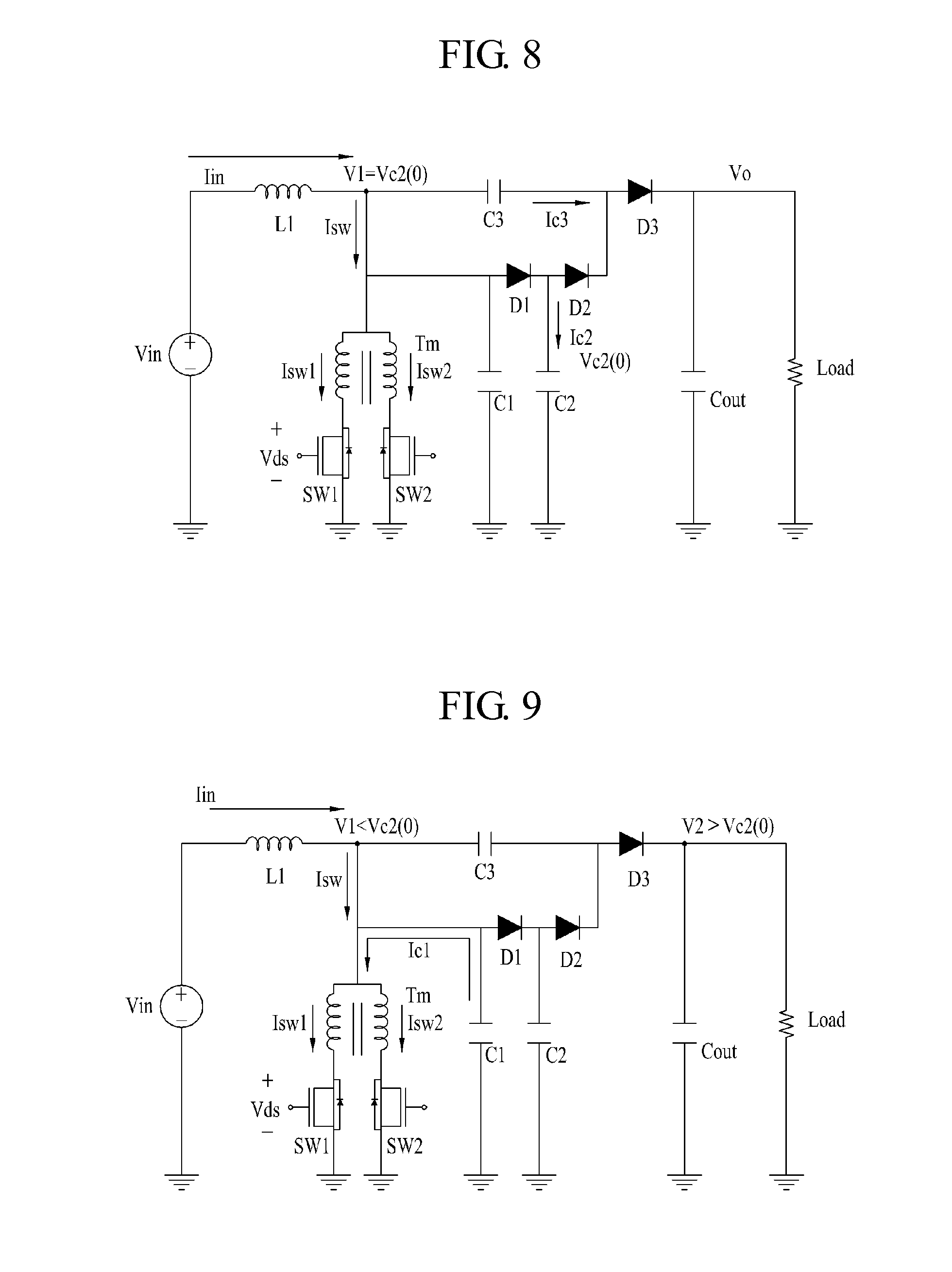 dc-dc boost converter circuit and method for driving the same