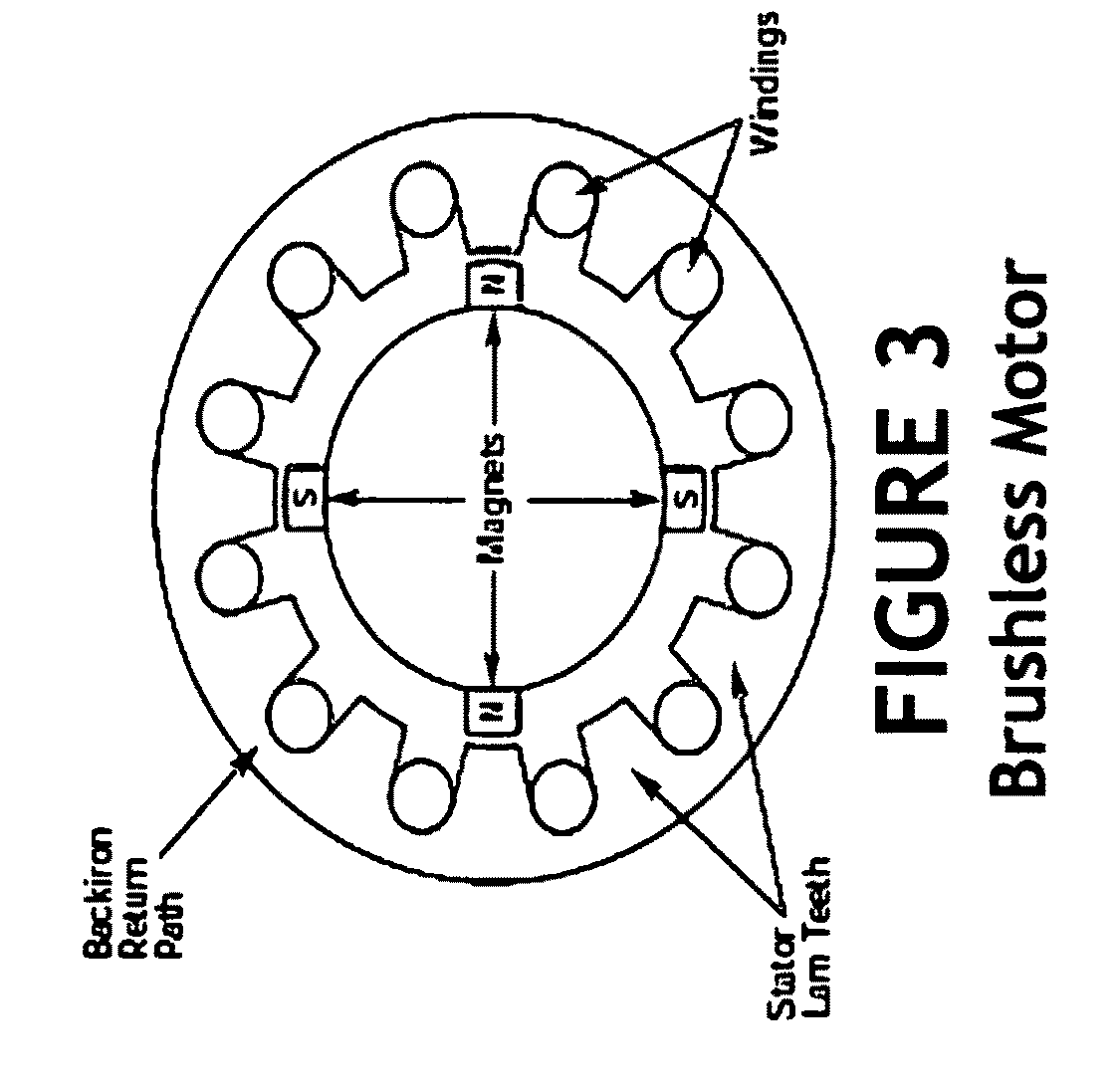 patent us20120007364 - brushless dc turbo-hydro electric generator