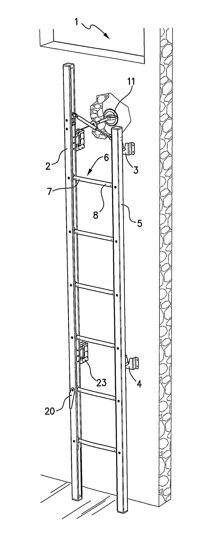 Patent Us20120012423 Emergency Escape Ladder Google
