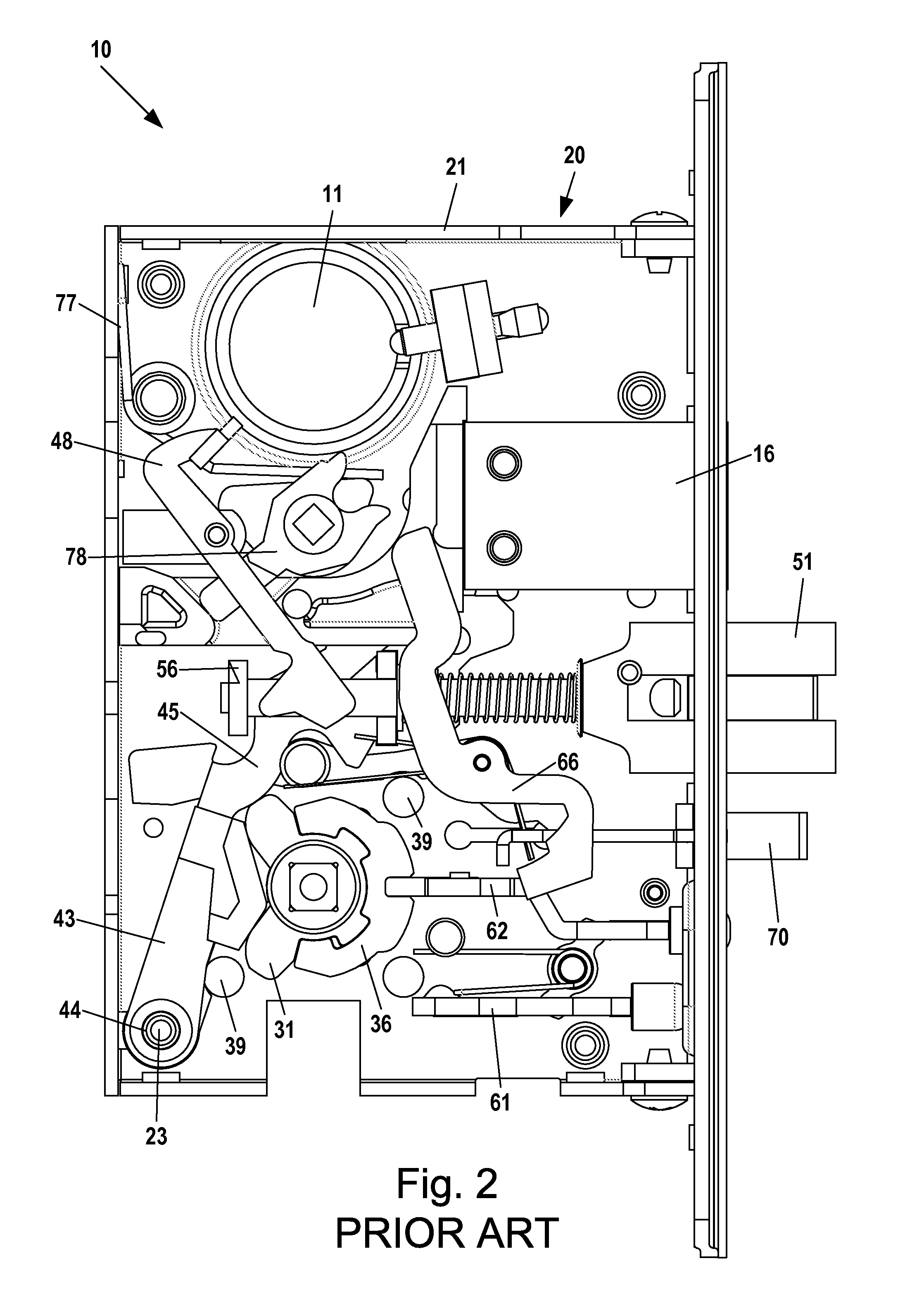 patent us20120013135 - mortise latchset with dually biased cam assembly