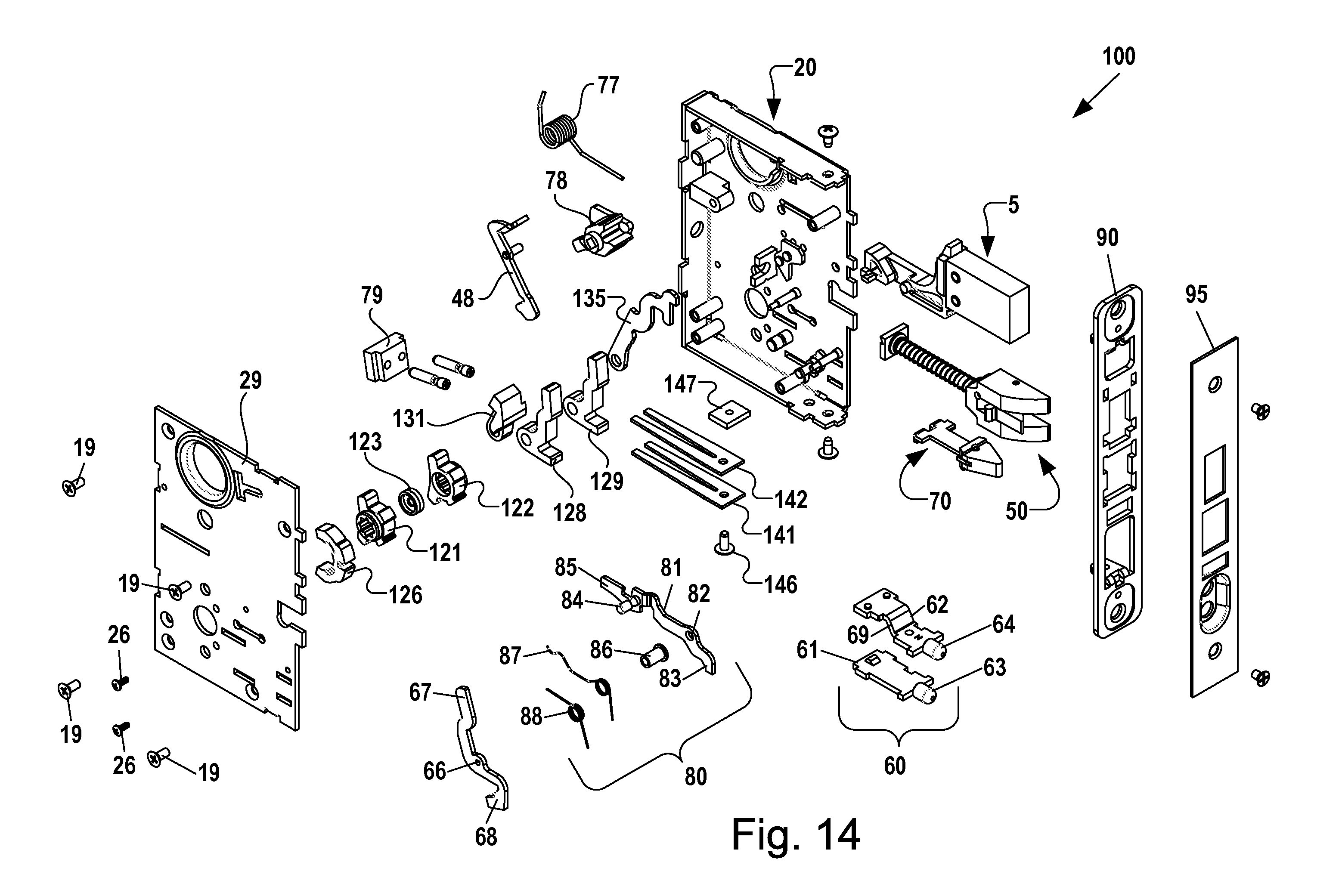 Patent Us20120013135 Mortise Latchset With Dually Biased