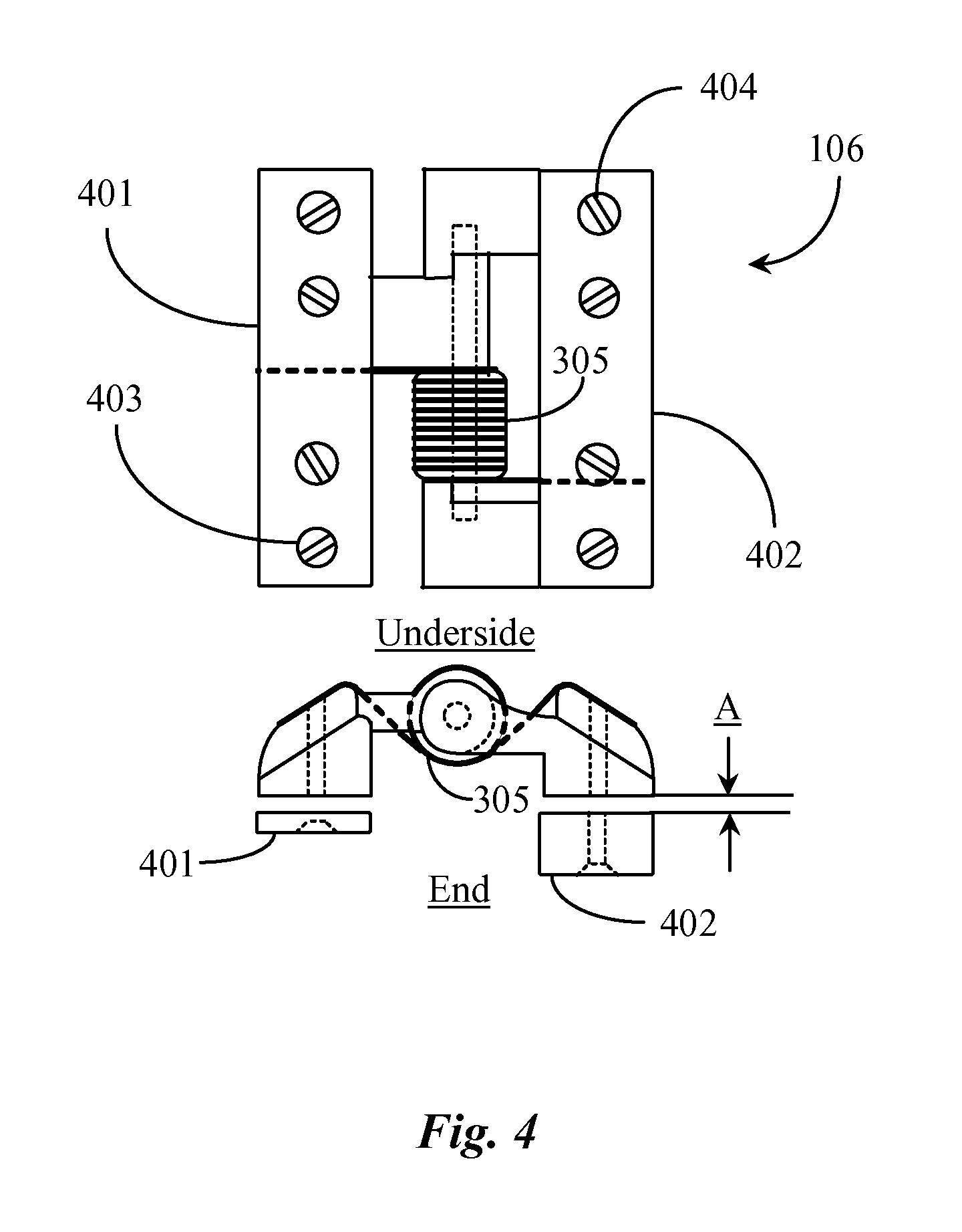 patent us20120024342 - solar panel array