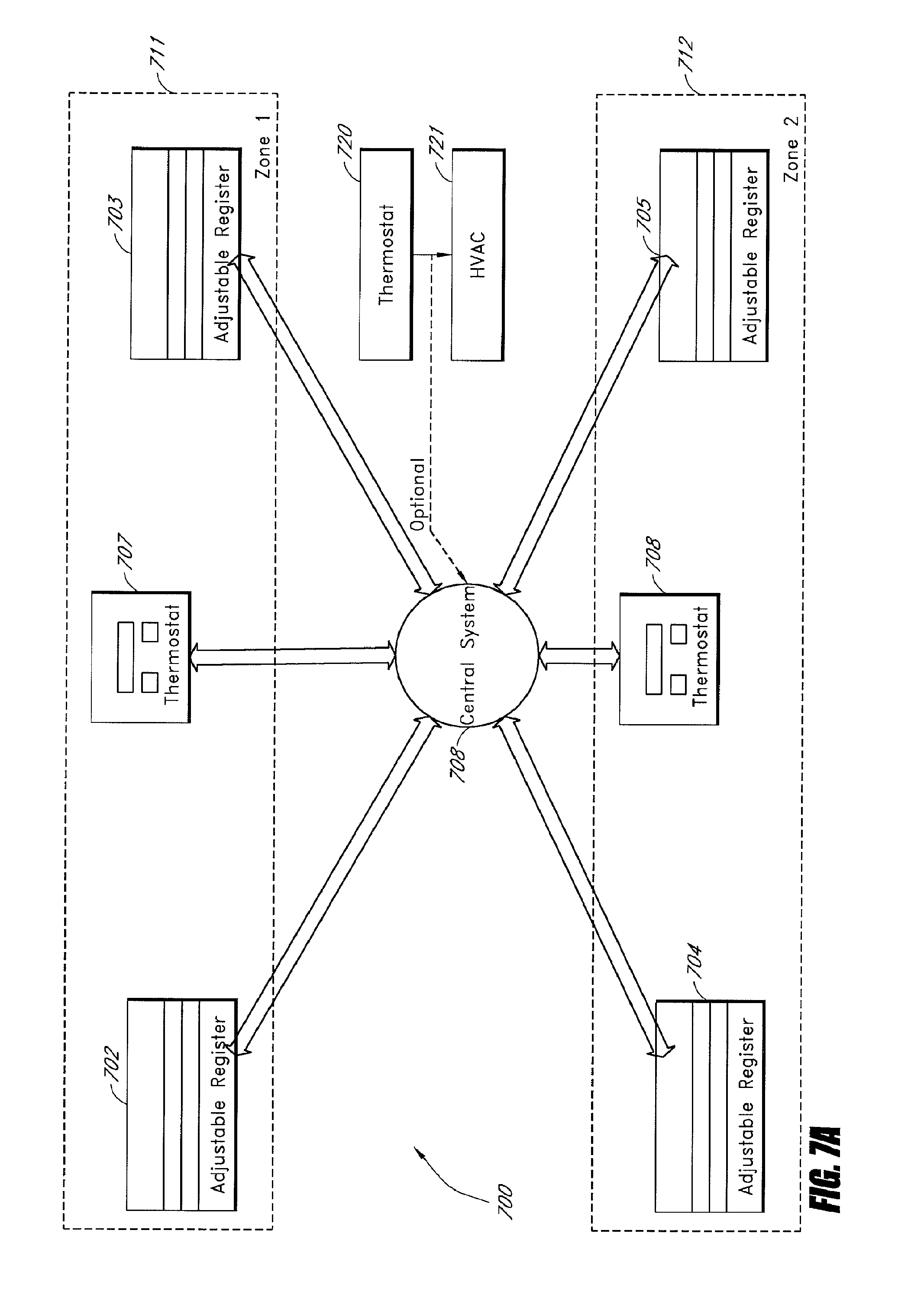 Patent Us20120024969 Electronically Controlled Register Vent For Hvac Draw Band Drawing