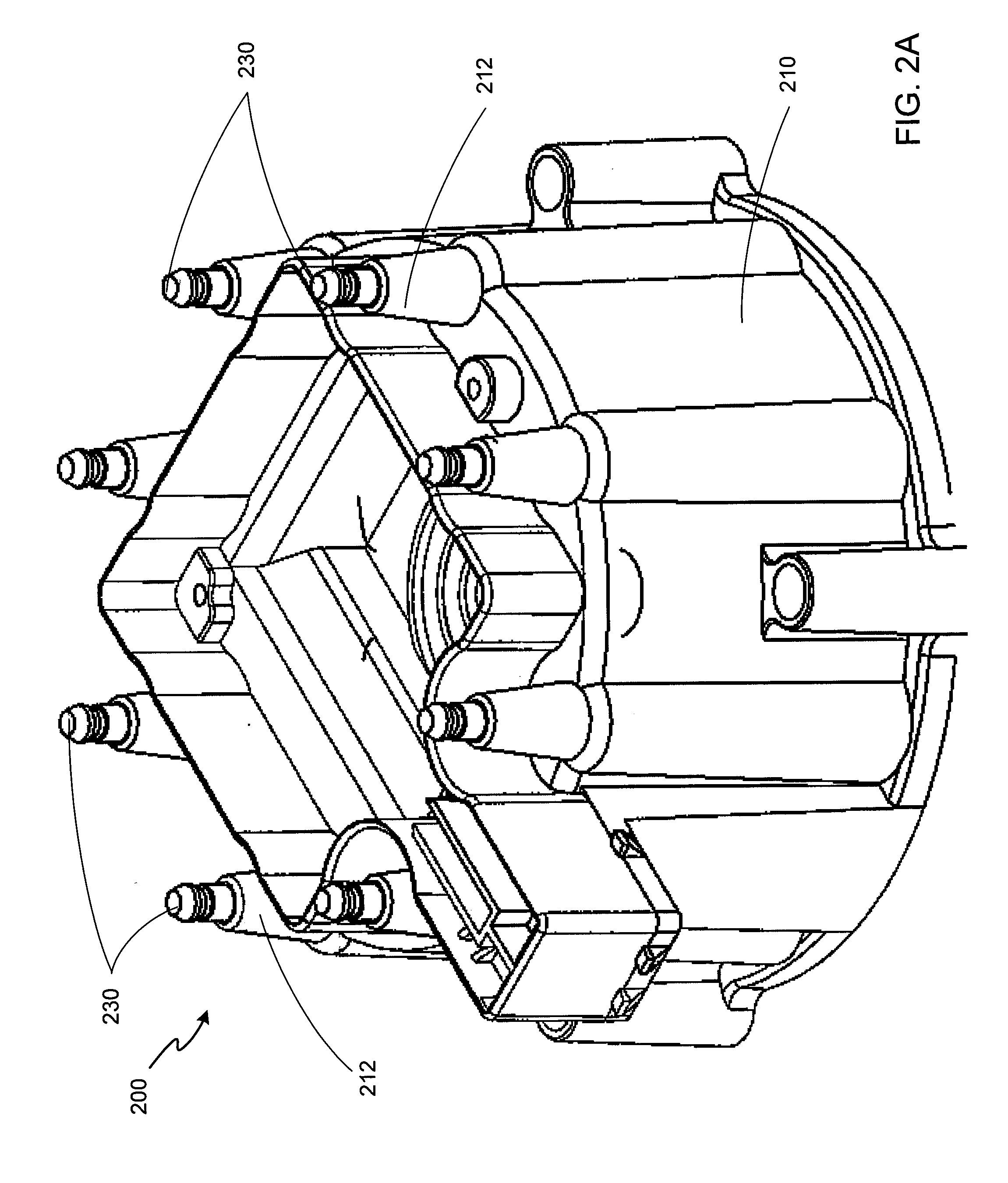 patent us20120055433 high energy ignition distributor cap patent drawing