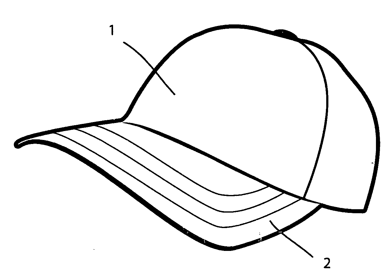 patent us20120060259 hat with removable faux front crown