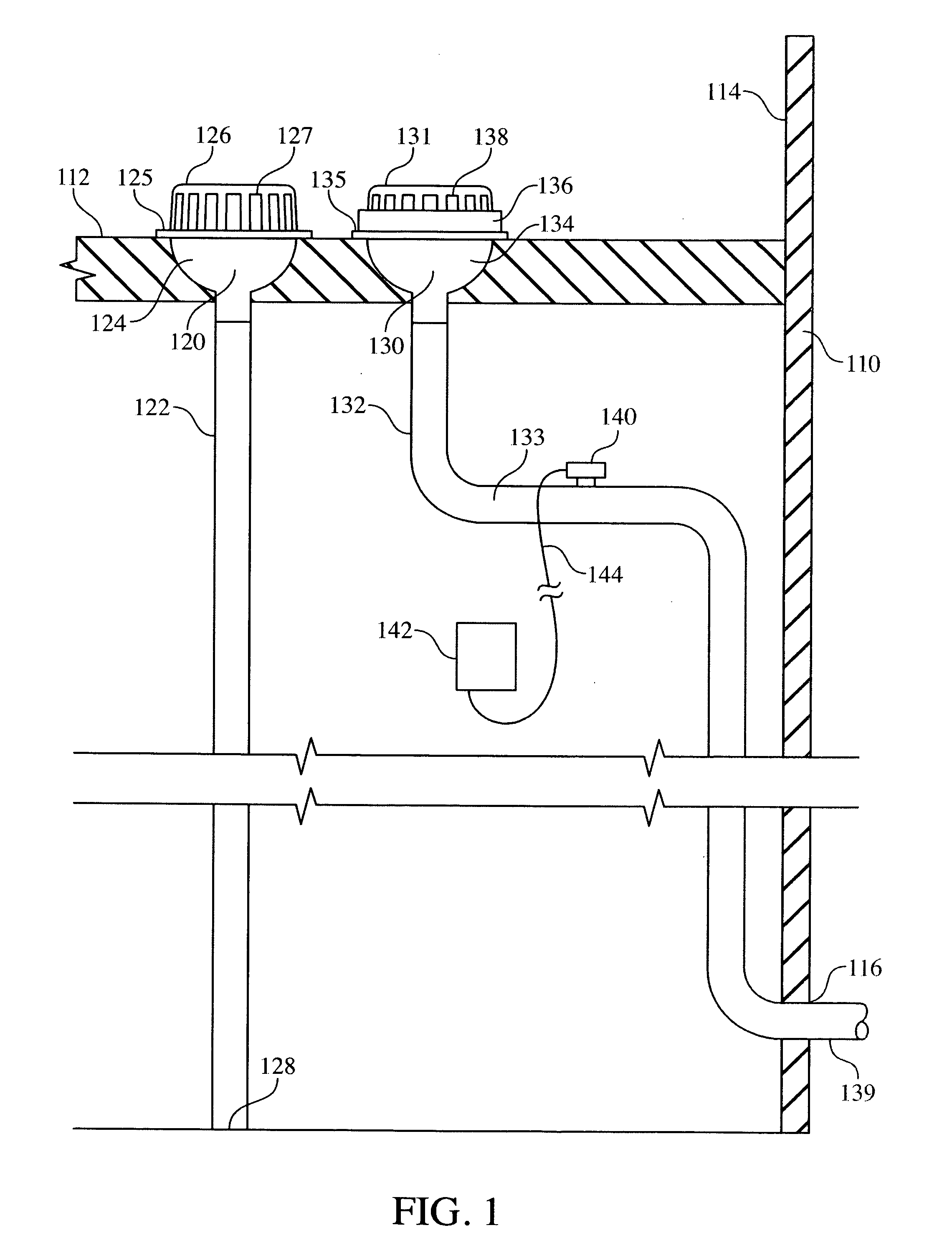 Emergency Roof Drain Storage Tank Patent Us4134515