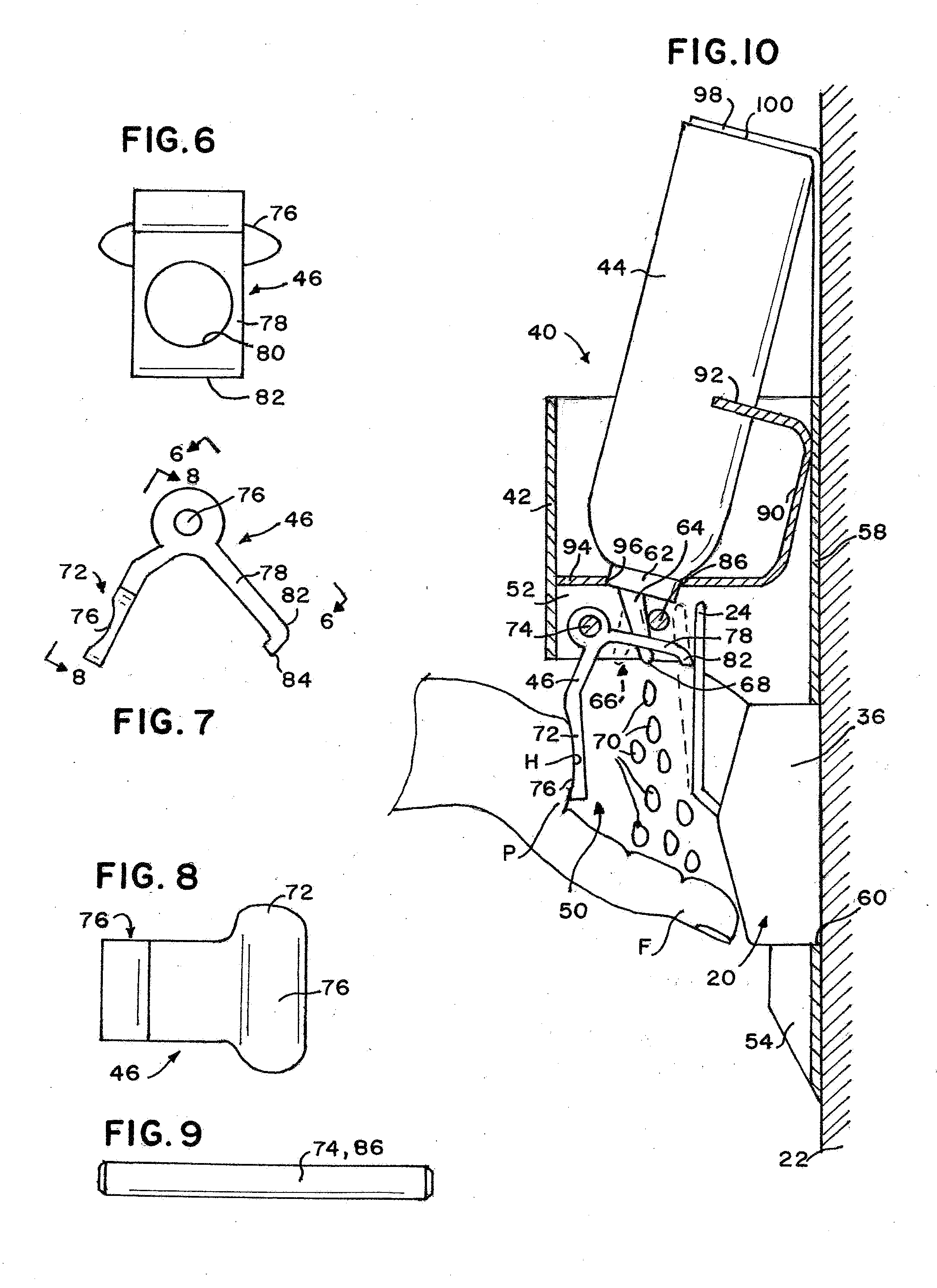 Patent Us20120080451 Hand Sanitizing Door Opener