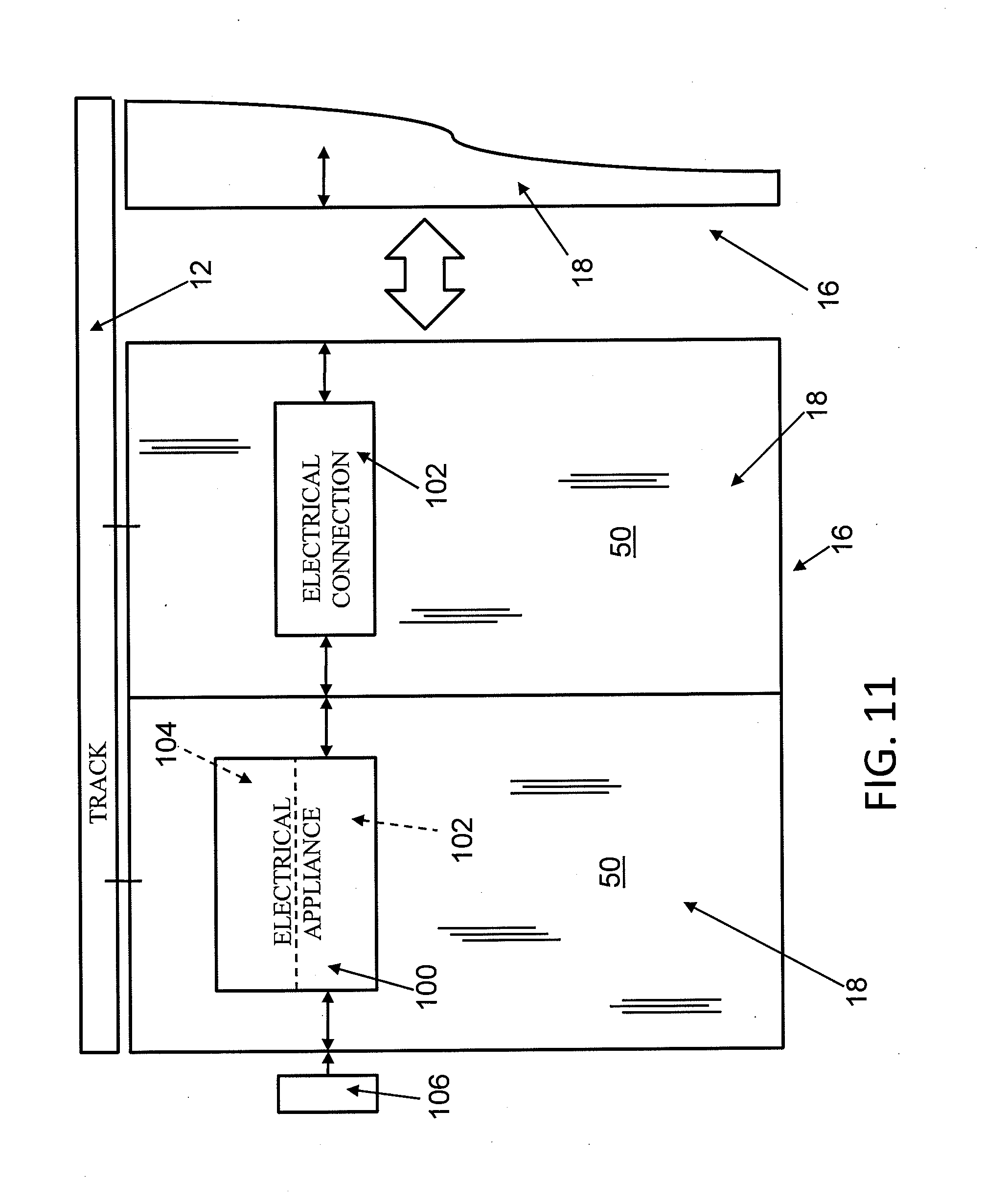patent us20120083147 movable wall panel system electrical patent drawing