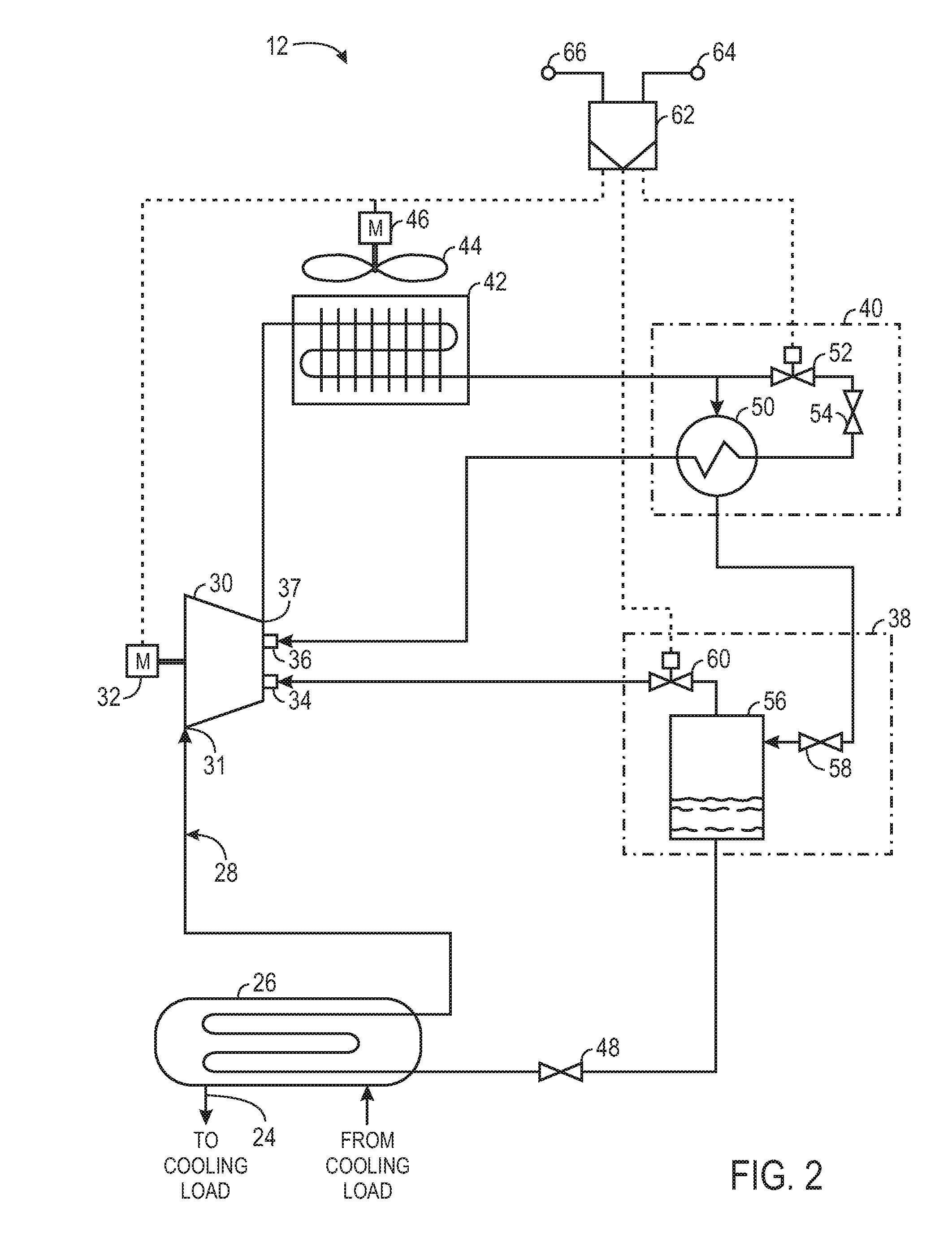 US20120103005A1 20120503 D00002 patent us20120103005 screw chiller economizer system google Honeywell Thermostat Wiring Diagram at cos-gaming.co