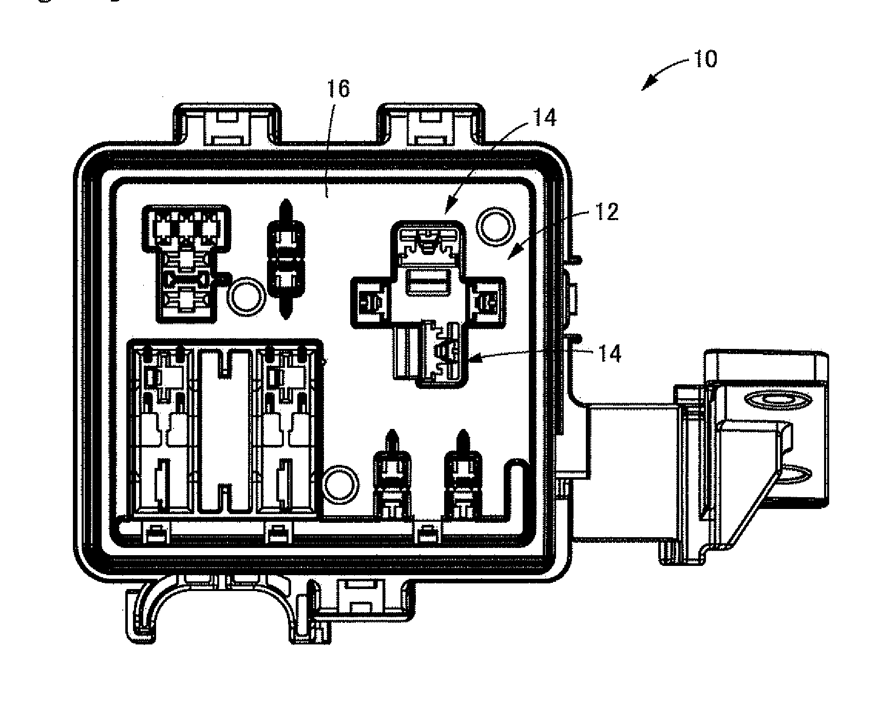 patent us20120103649 - electrical junction box