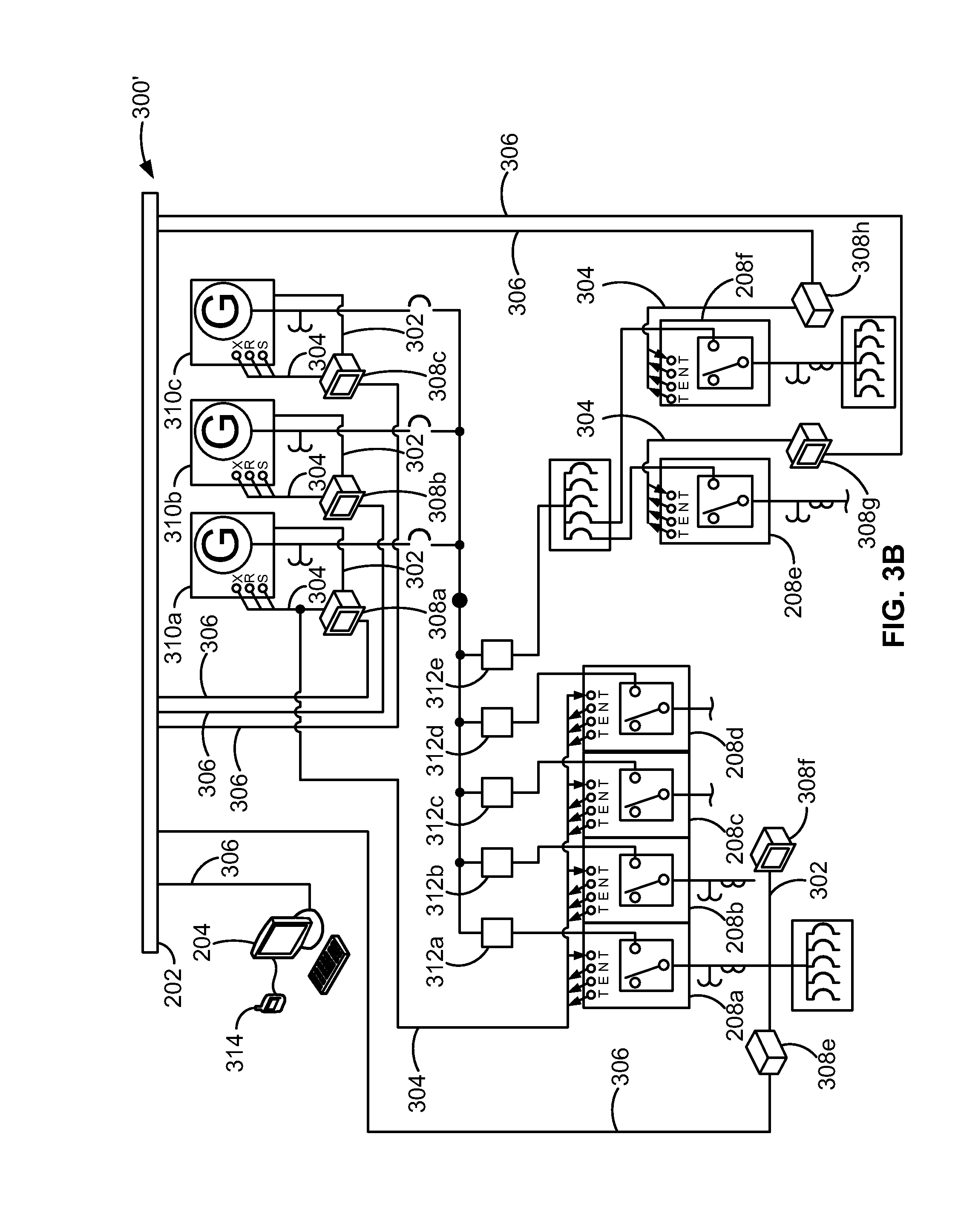Patent US Automated emergency power supply system