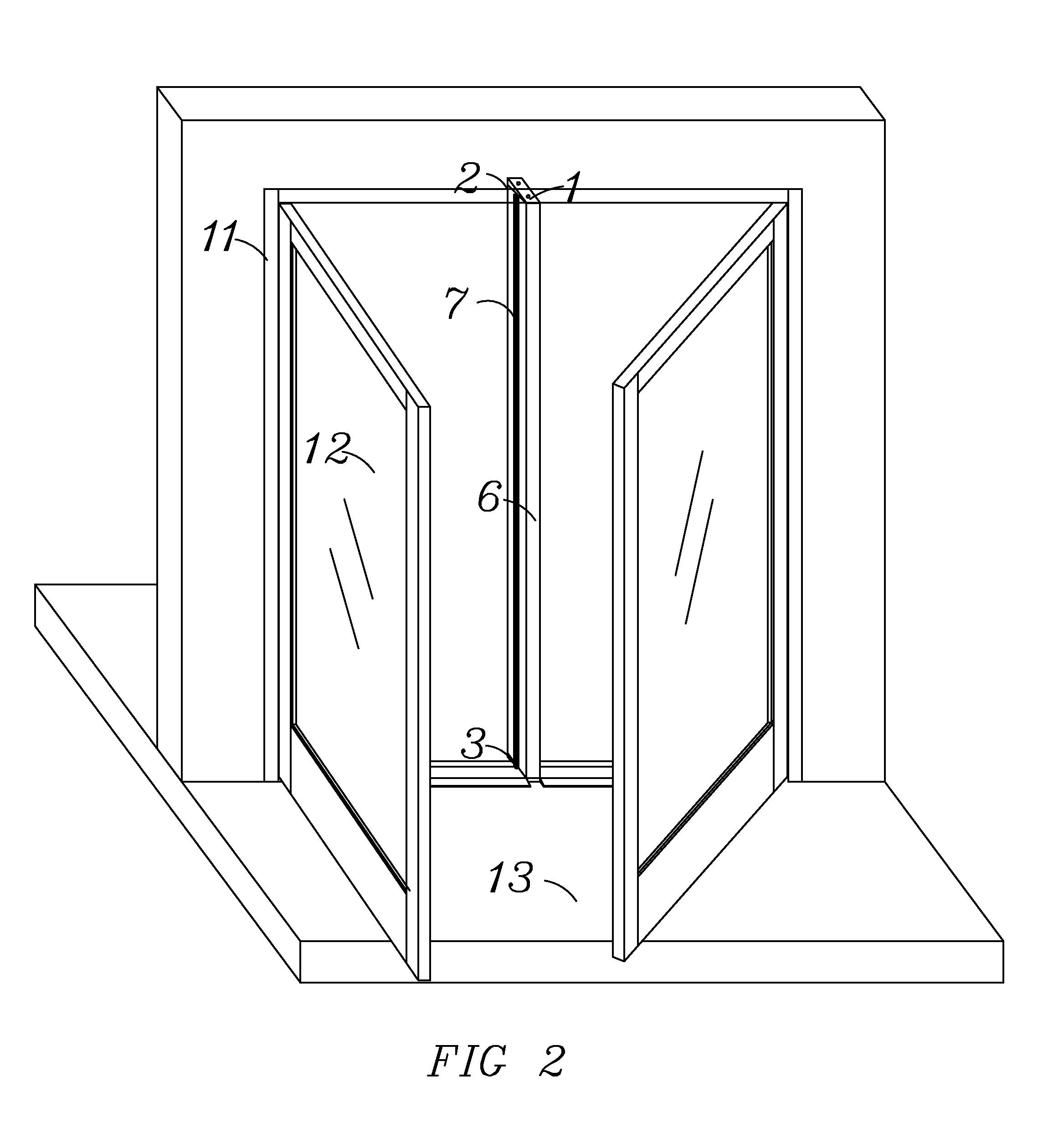 Patent Drawing  sc 1 st  Google & Patent US20120110913 - Aluminum Door Keyed Removable Mullion ... pezcame.com