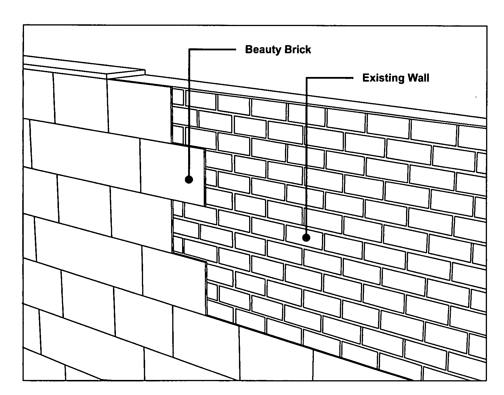 how to draw a brick wall