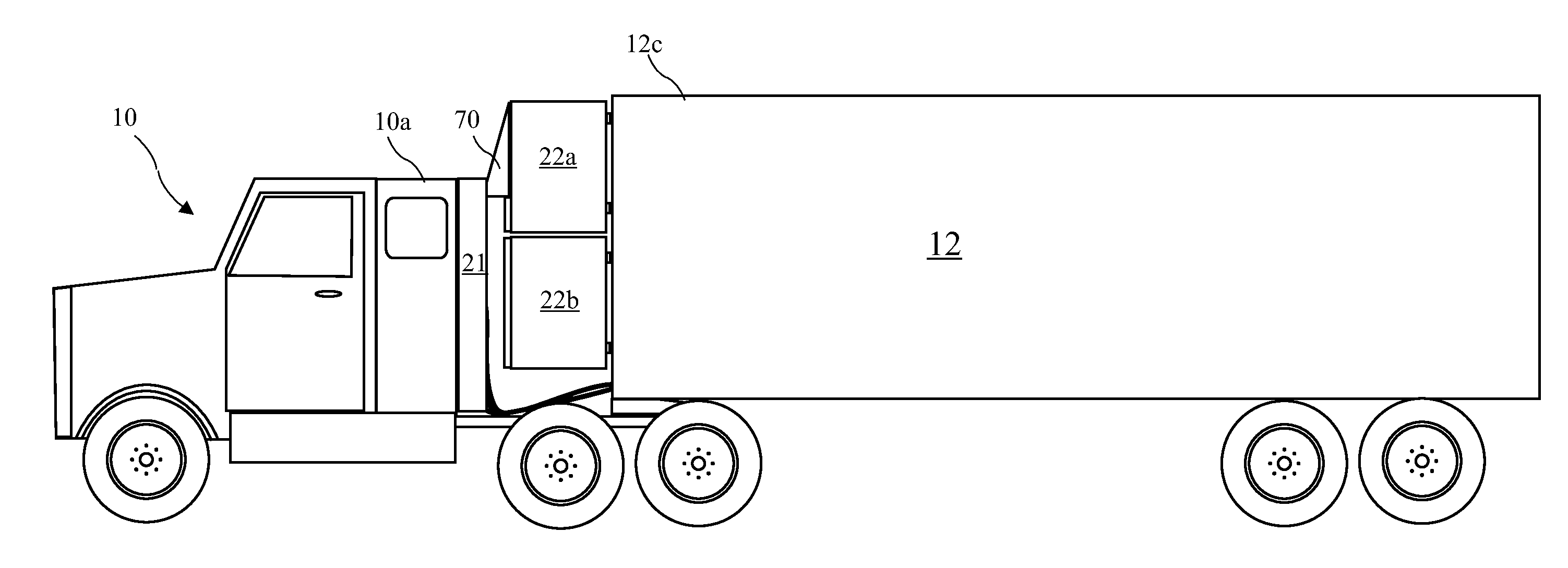 semi truck inspection diagram