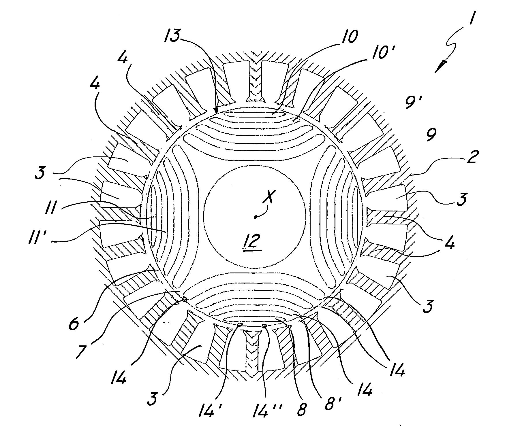 Patent Us20120139464 Synchronous Reluctance Motor