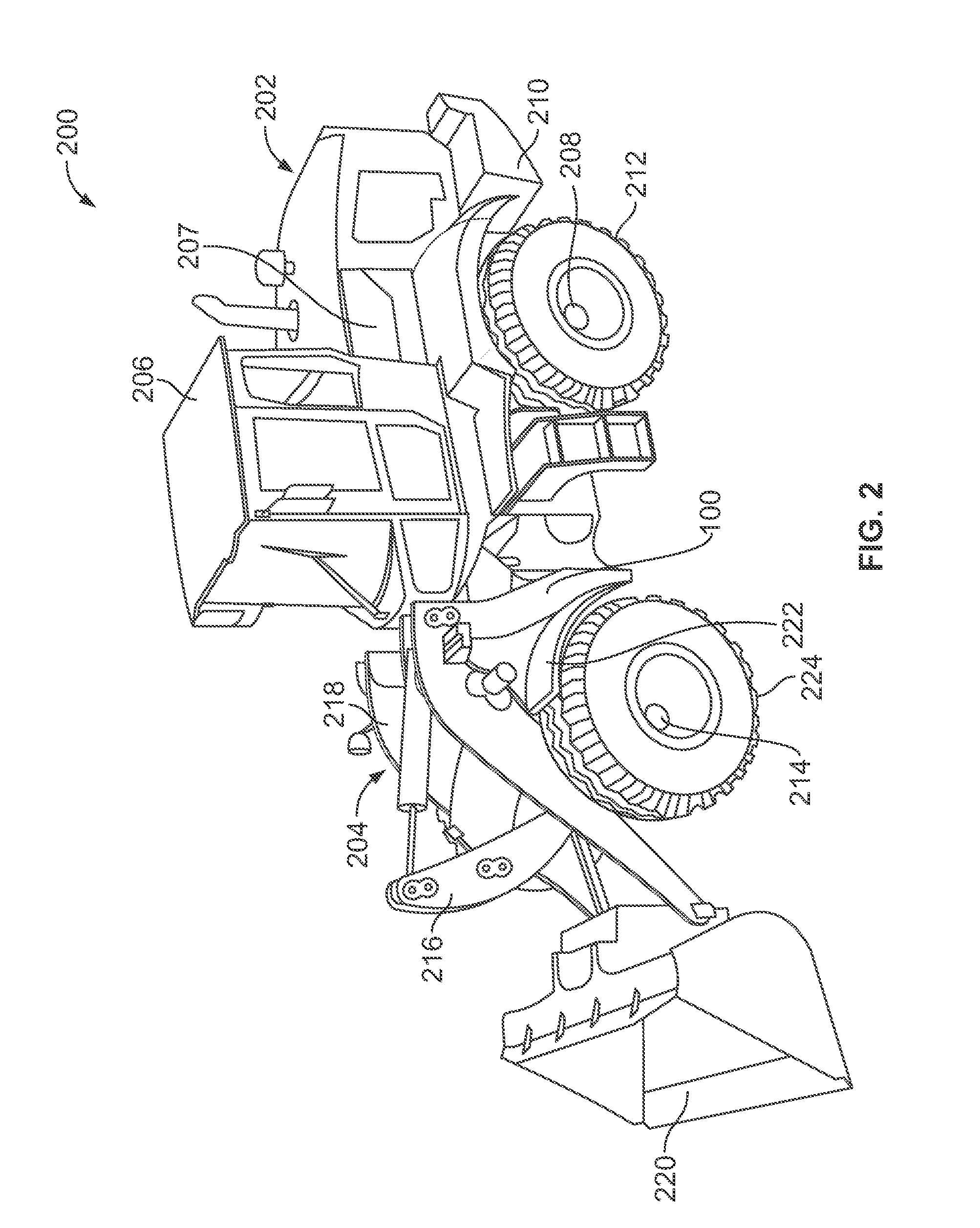 Patent US20120145471 Pyramid Structure for Non Engine End Frame – John Deere 210 Ignition Wiring Diagram
