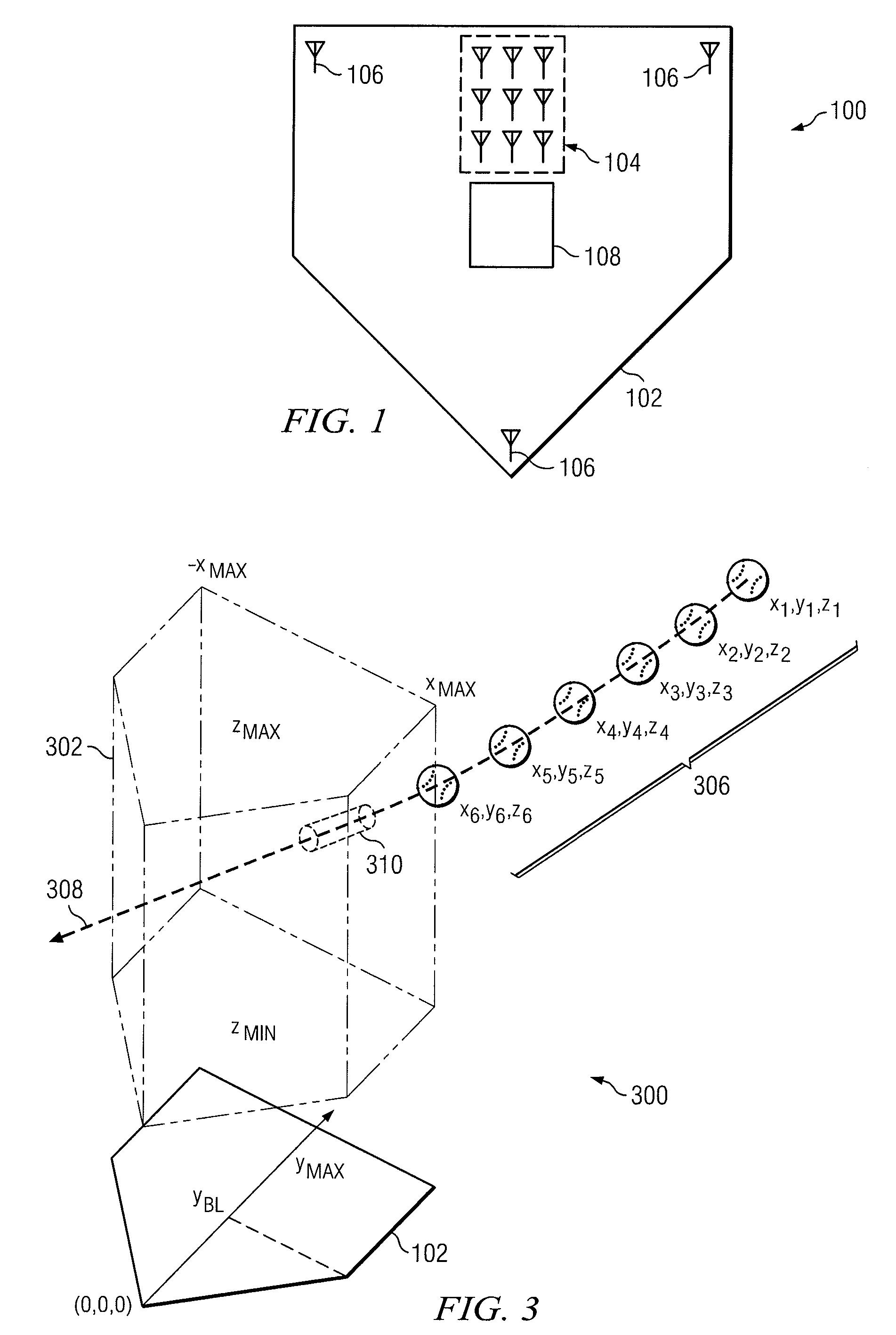 Patent US20120146291 - Baseball strike zone detection radar ...