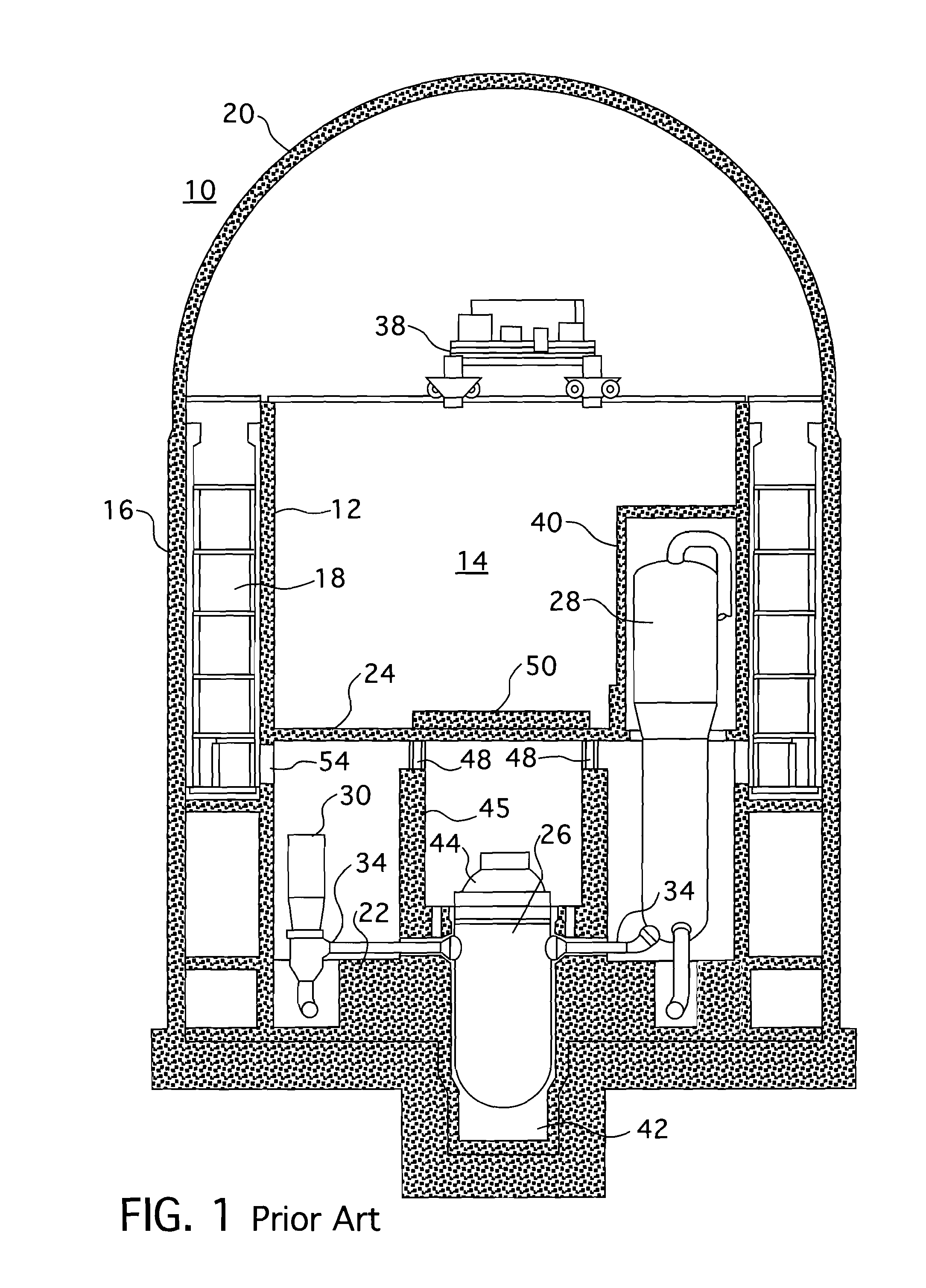 patent us20120148011 - nuclear reactor cavity arrangements for ice condenser plants