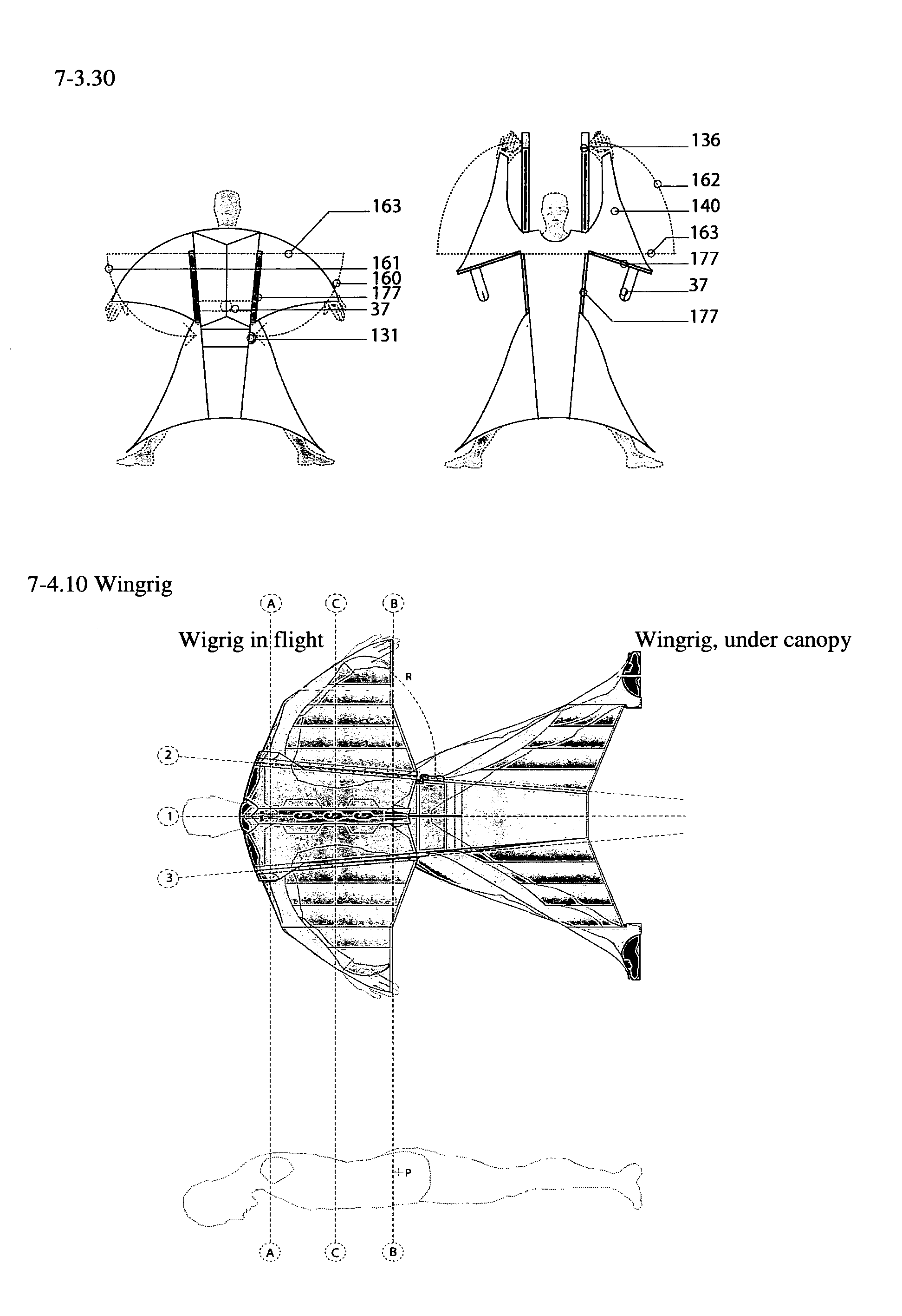 patent us20120153088 - wing rig