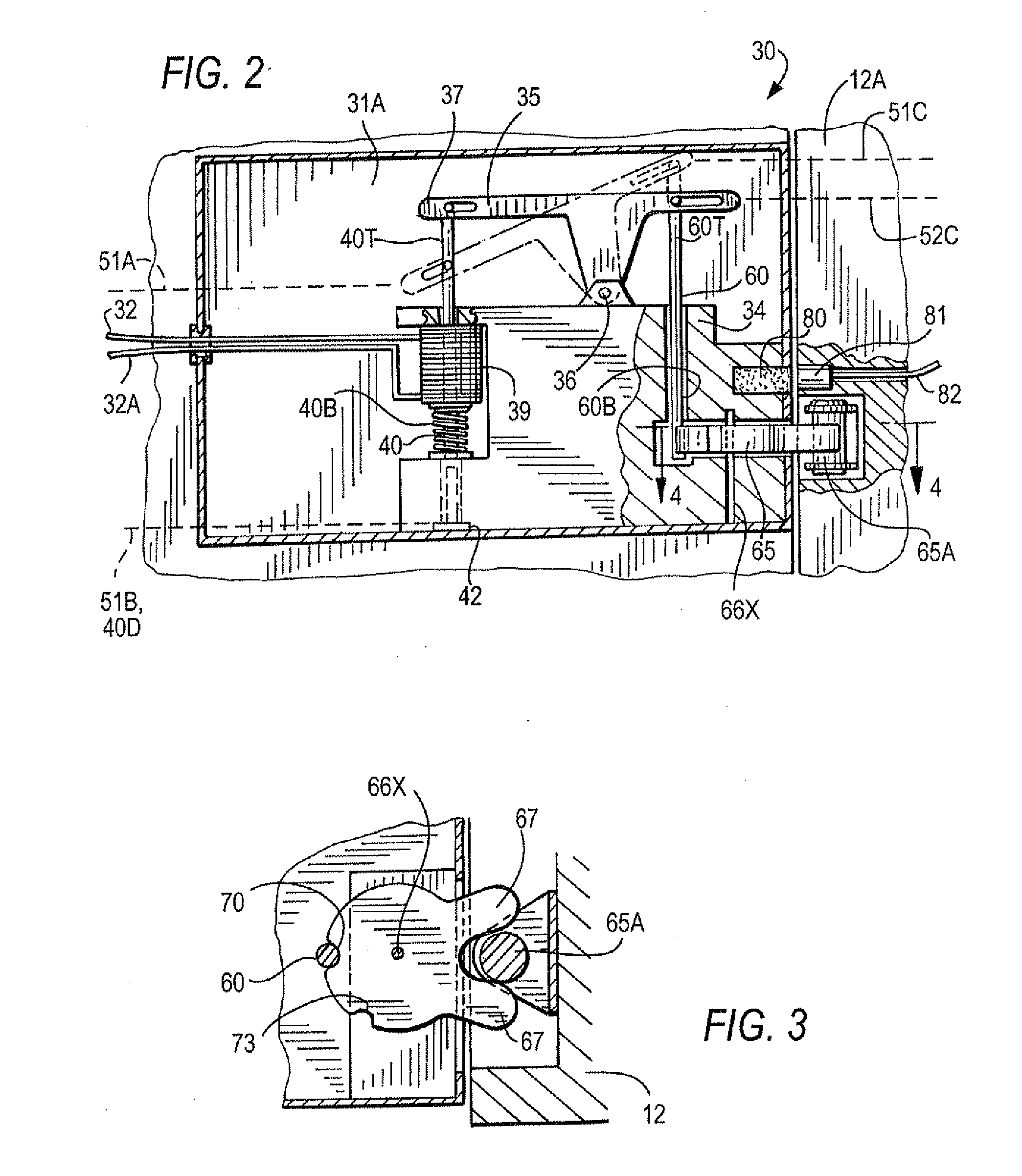 Patent Us20120167644 Delayed Egress Paddle Alarm Door