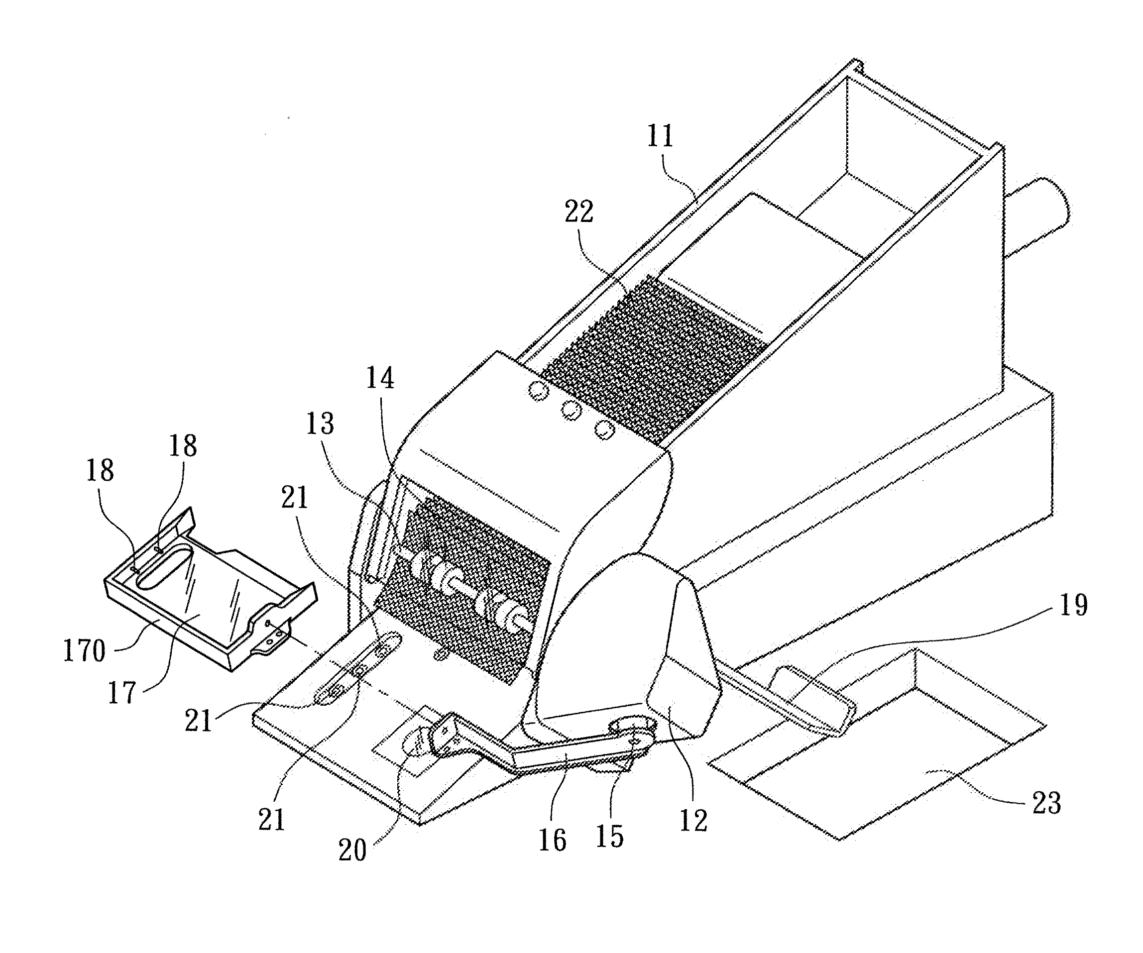 Patent Us20120169009 Playing Card Dispensing And Opening System Gm 4 2l Engine Diagram Drawing