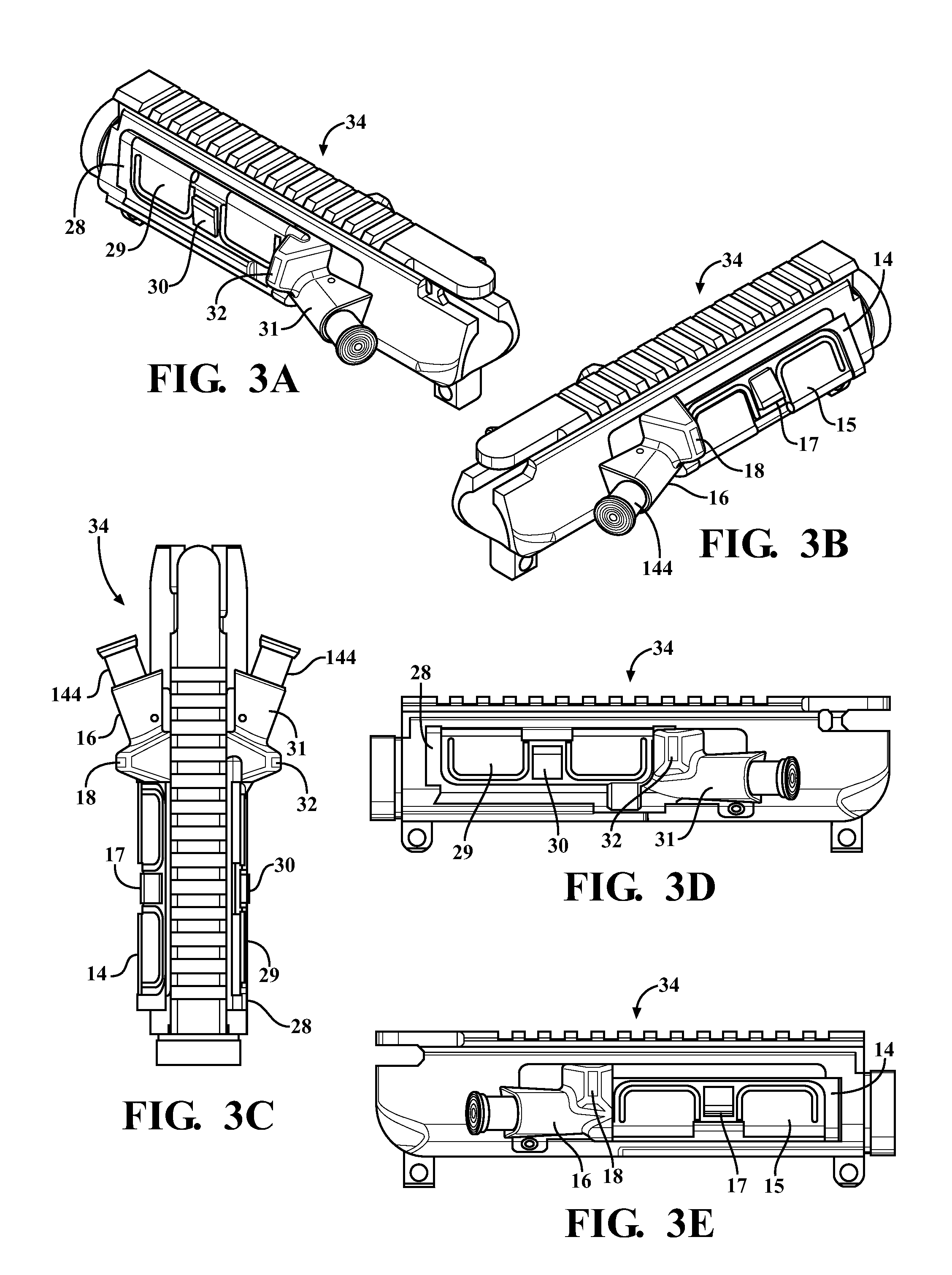 patent us20120174451  ar15 type firearm in particular for