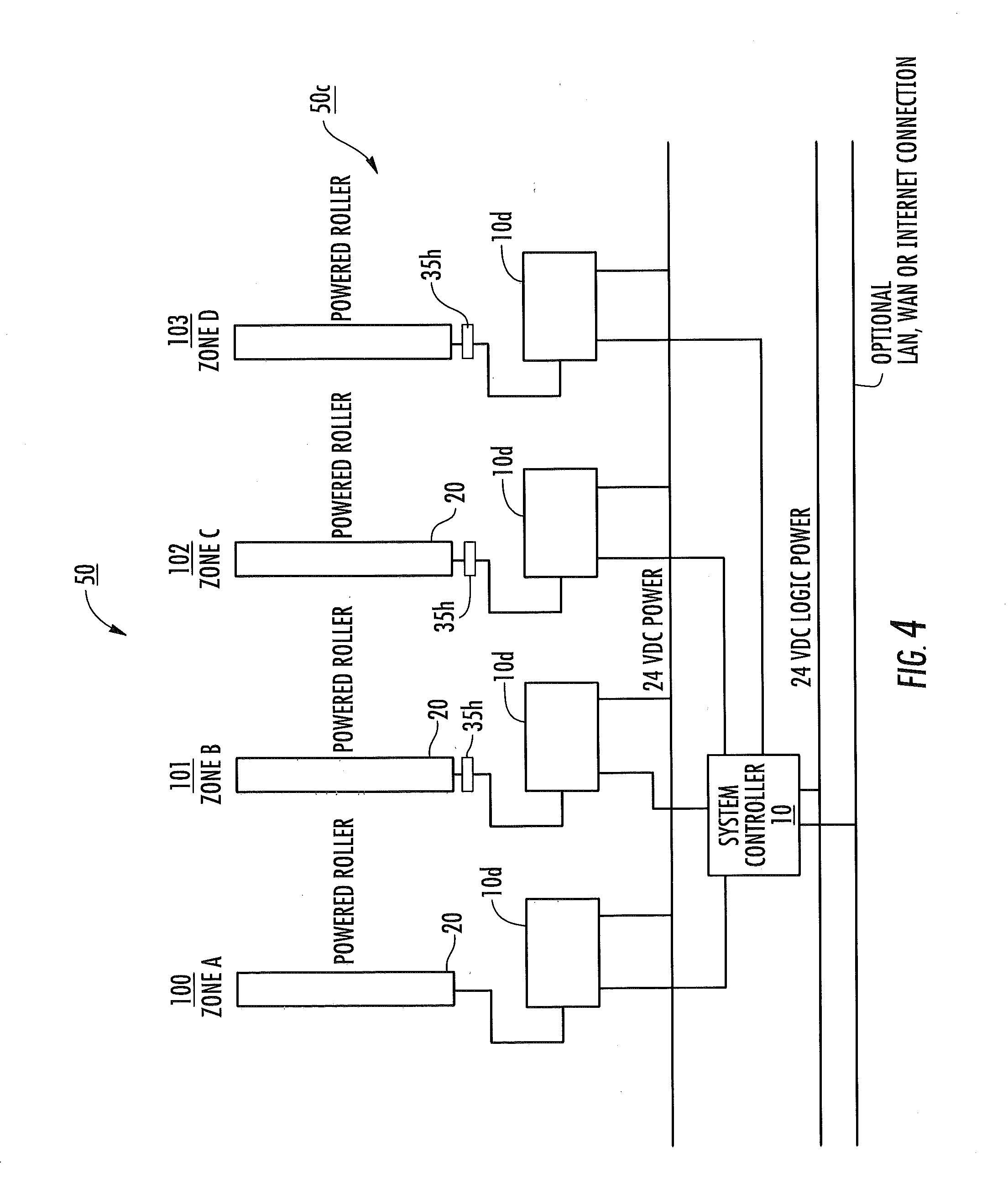 patent us sequential controlled start up for zoned patent drawing