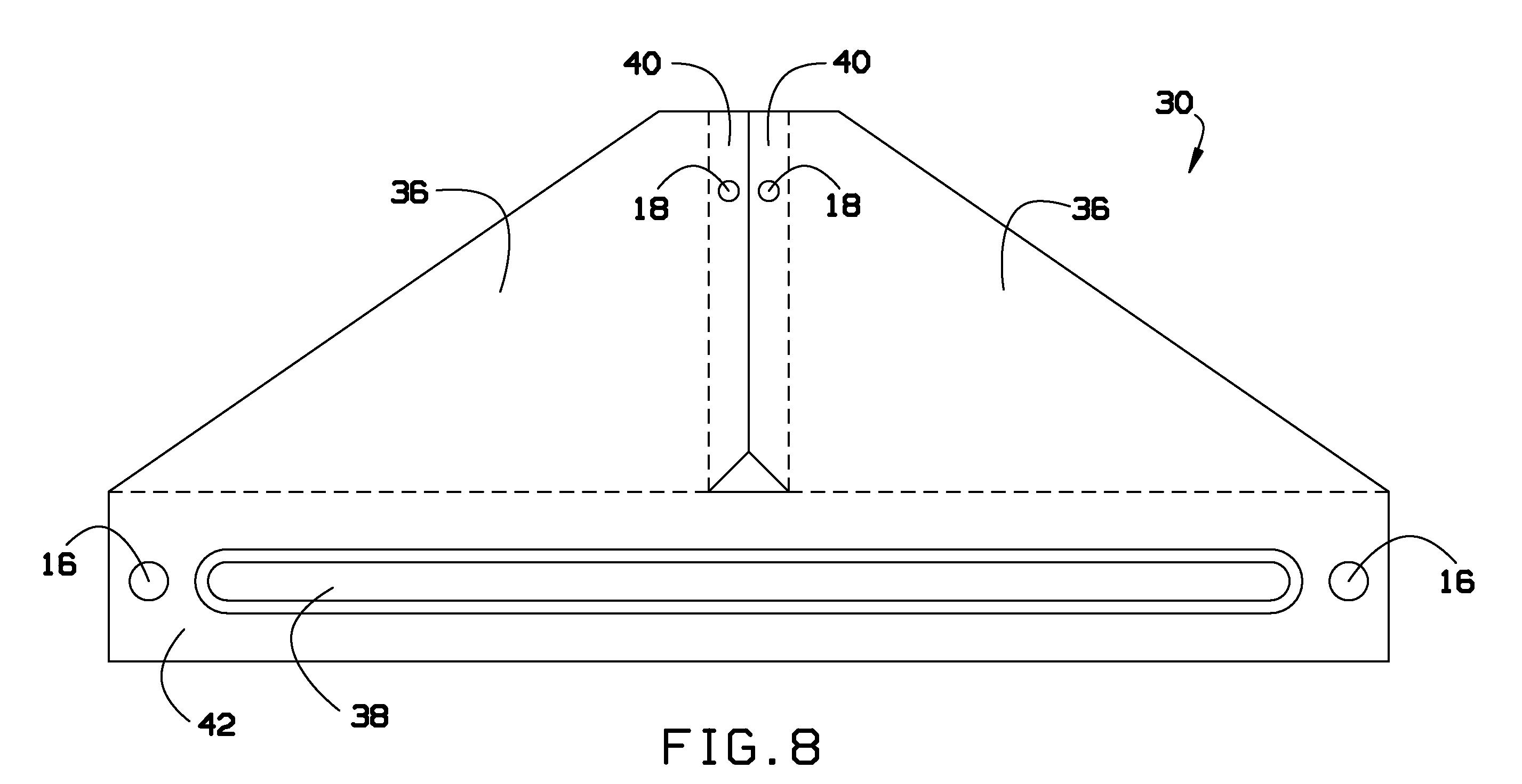 Expansion Joint Brackets : Patent us  expansion joint bracket google