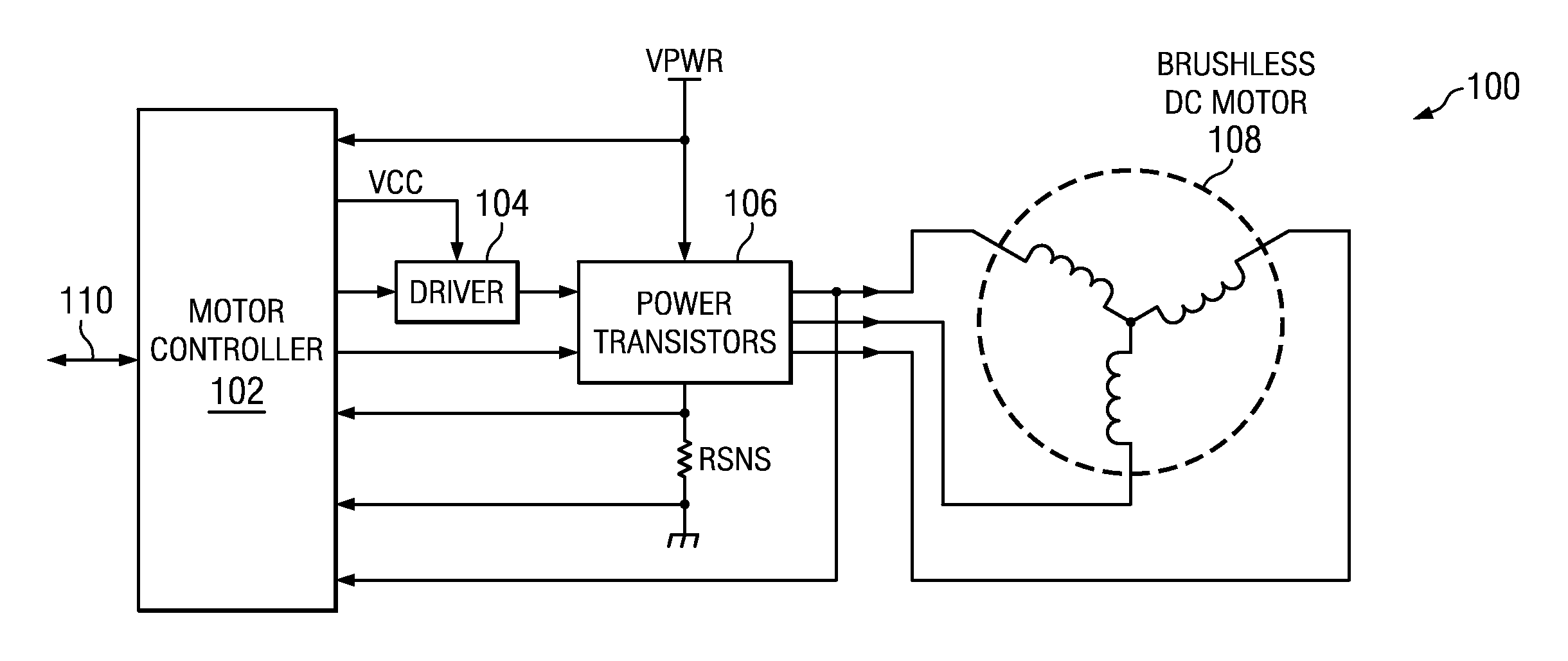 Brevet Us20120181963 Initial Position Detection For A Sensorless Brushless Dc Motor Diagram Patent Drawing