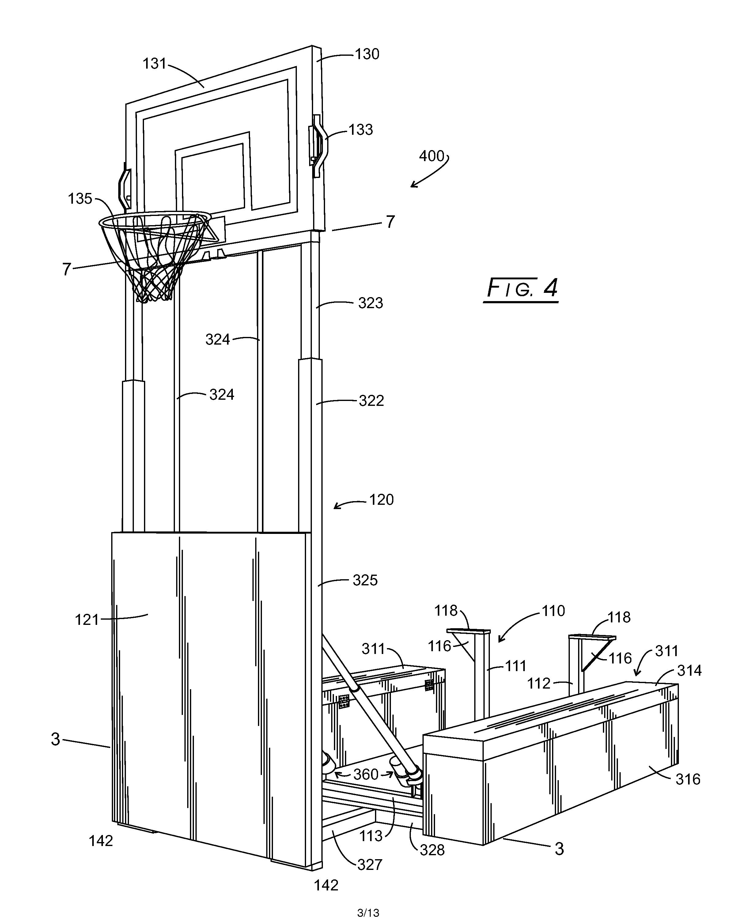 Regulation Basketball Ring Height