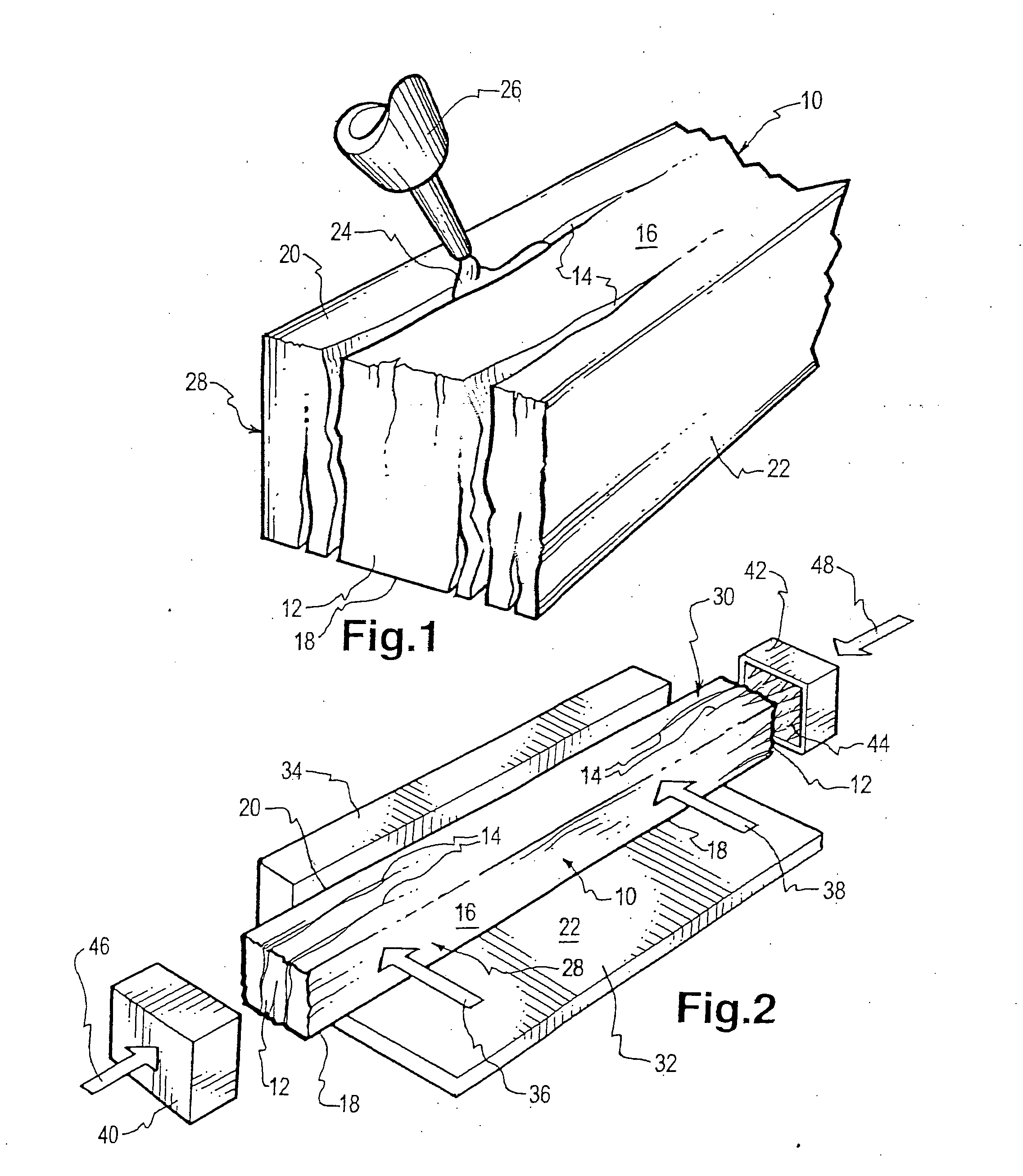patent us20120187205 rehabilitation of discarded wooden