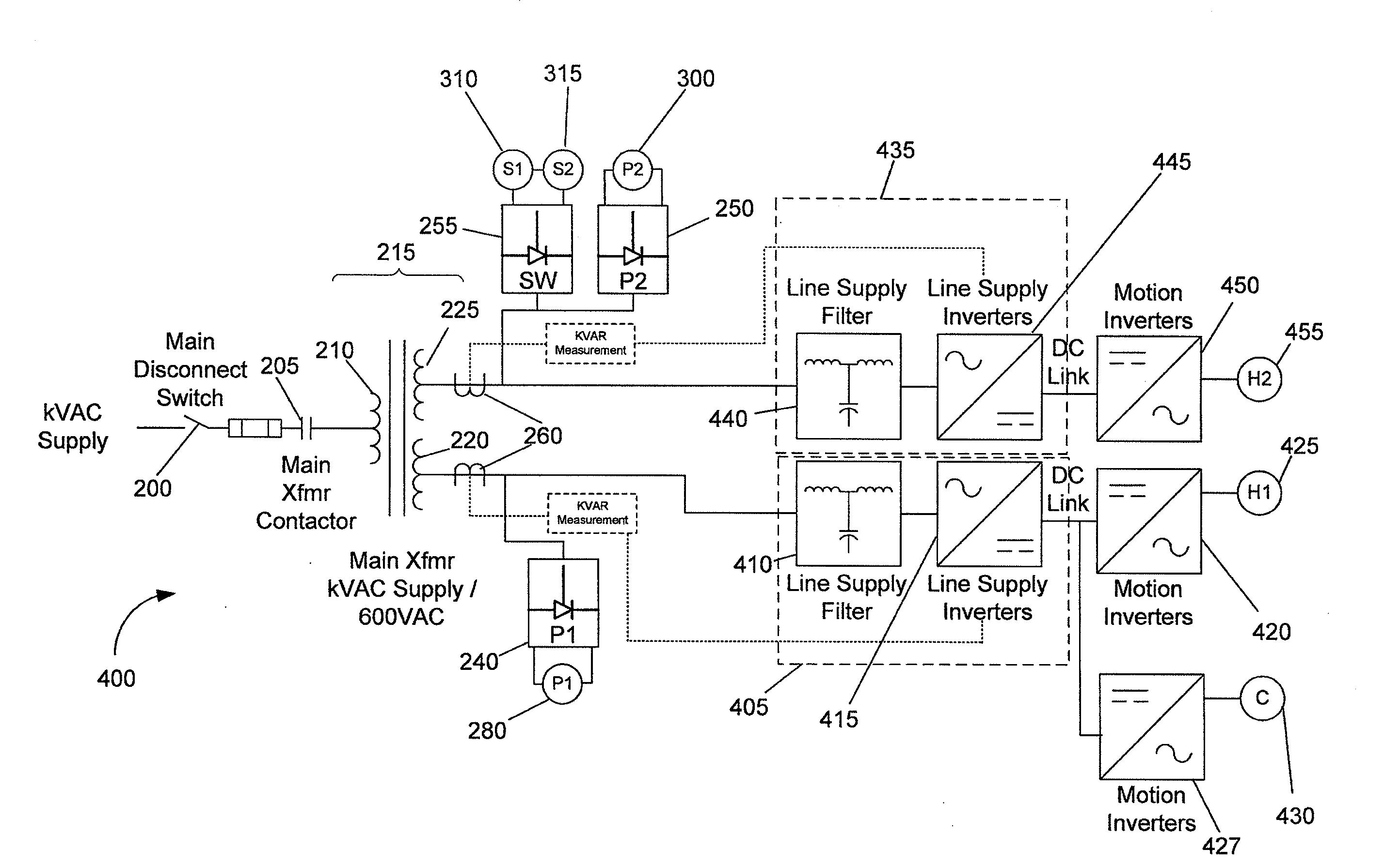 patent us20120187754 - hybrid electric shovel